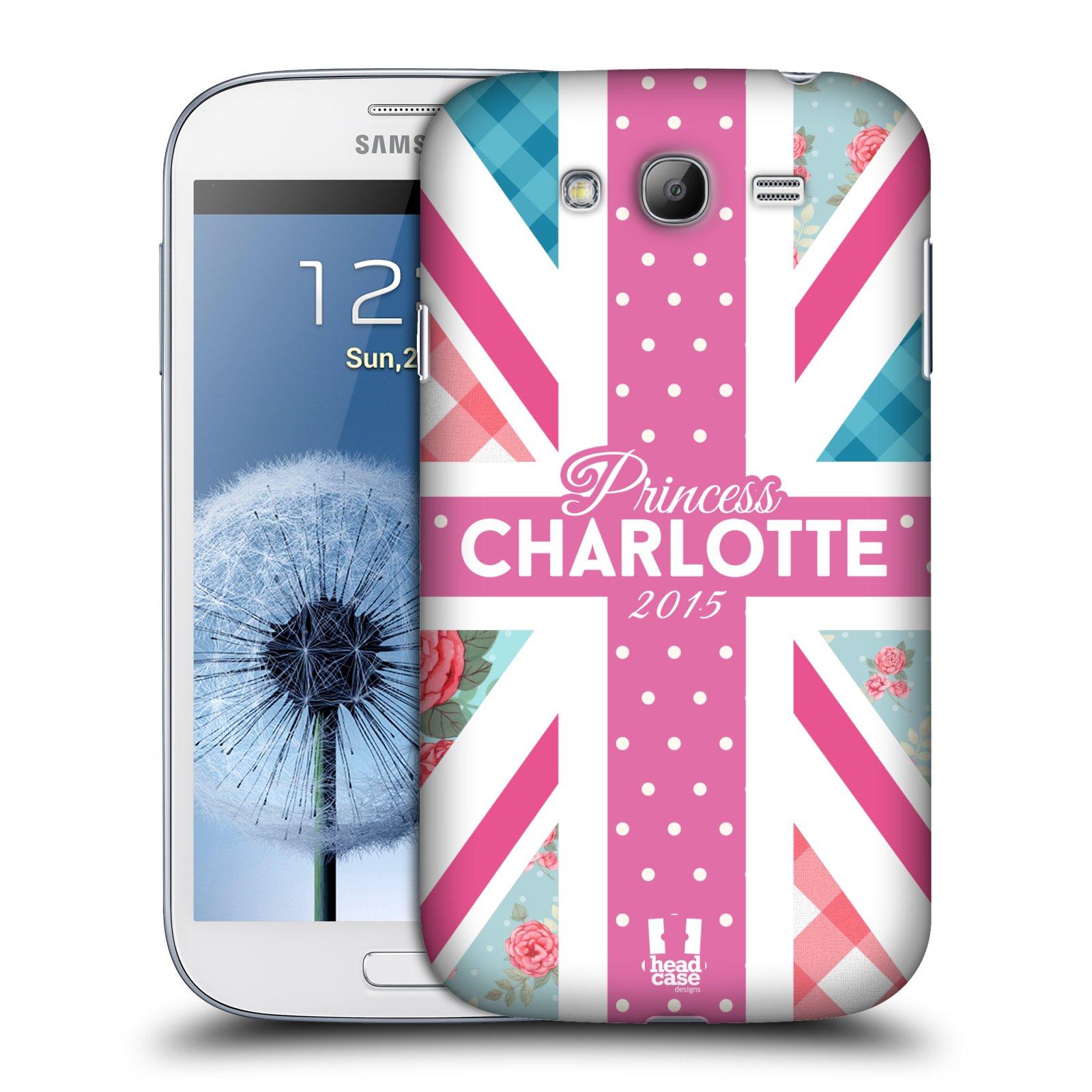 Plastové pouzdro na mobil Samsung Galaxy Grand Neo Plus HEAD CASE PRINCEZNIČKA CHARLOTTE (Kryt či obal na mobilní telefon Samsung Galaxy Grand Neo Plus GT-i9060i)