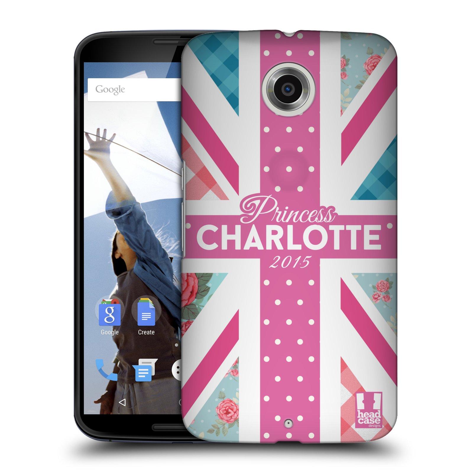 Plastové pouzdro na mobil Motorola Nexus 6 HEAD CASE PRINCEZNIČKA CHARLOTTE (Kryt či obal na mobilní telefon Motorola Nexus 6)
