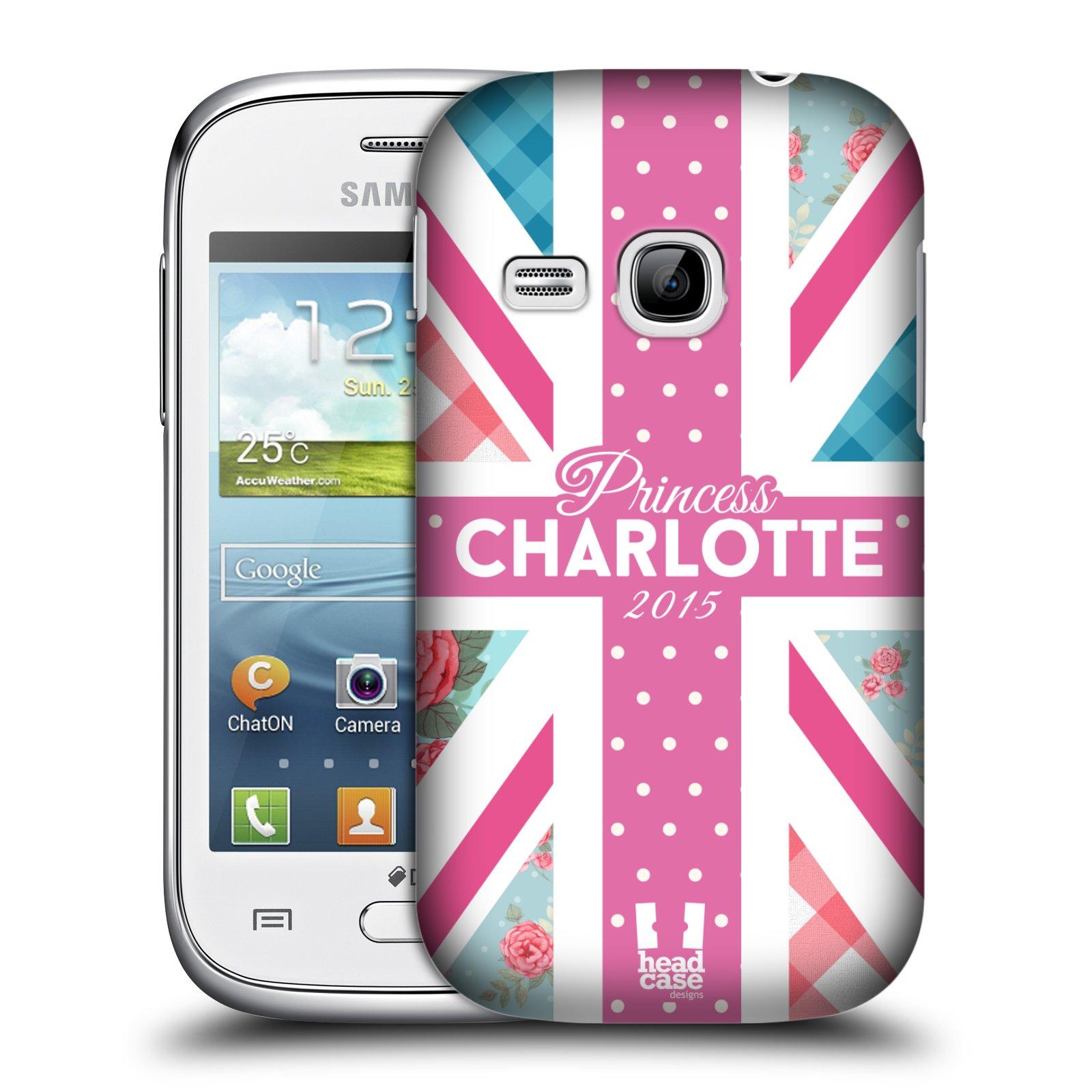 Plastové pouzdro na mobil Samsung Galaxy Young HEAD CASE PRINCEZNIČKA CHARLOTTE (Kryt či obal na mobilní telefon Samsung Galaxy Young GT-S6310)