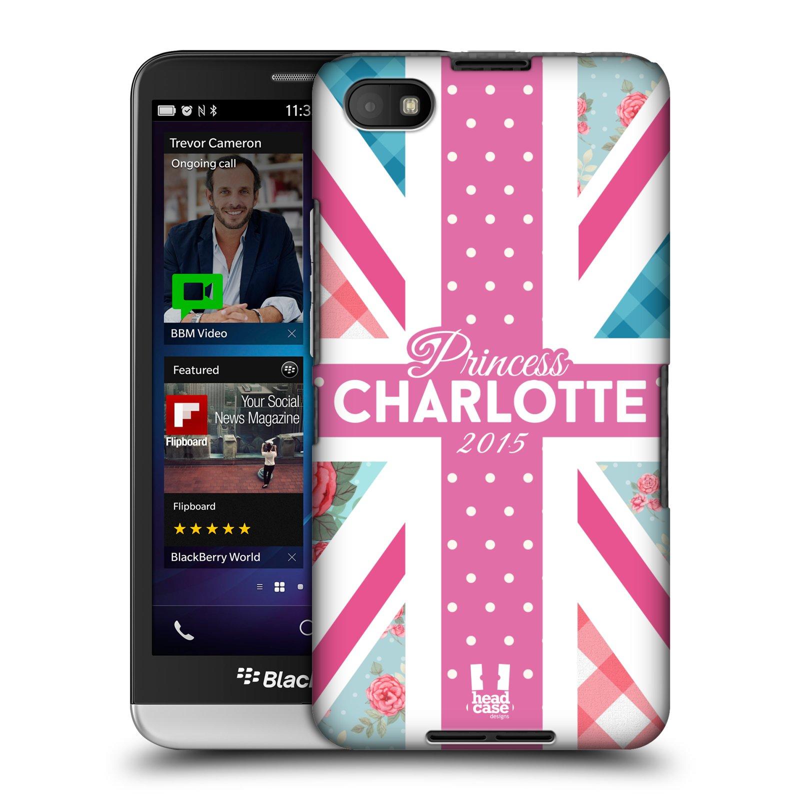 Plastové pouzdro na mobil Blackberry Z30 HEAD CASE PRINCEZNIČKA CHARLOTTE (Kryt či obal na mobilní telefon Blackberry Z30)