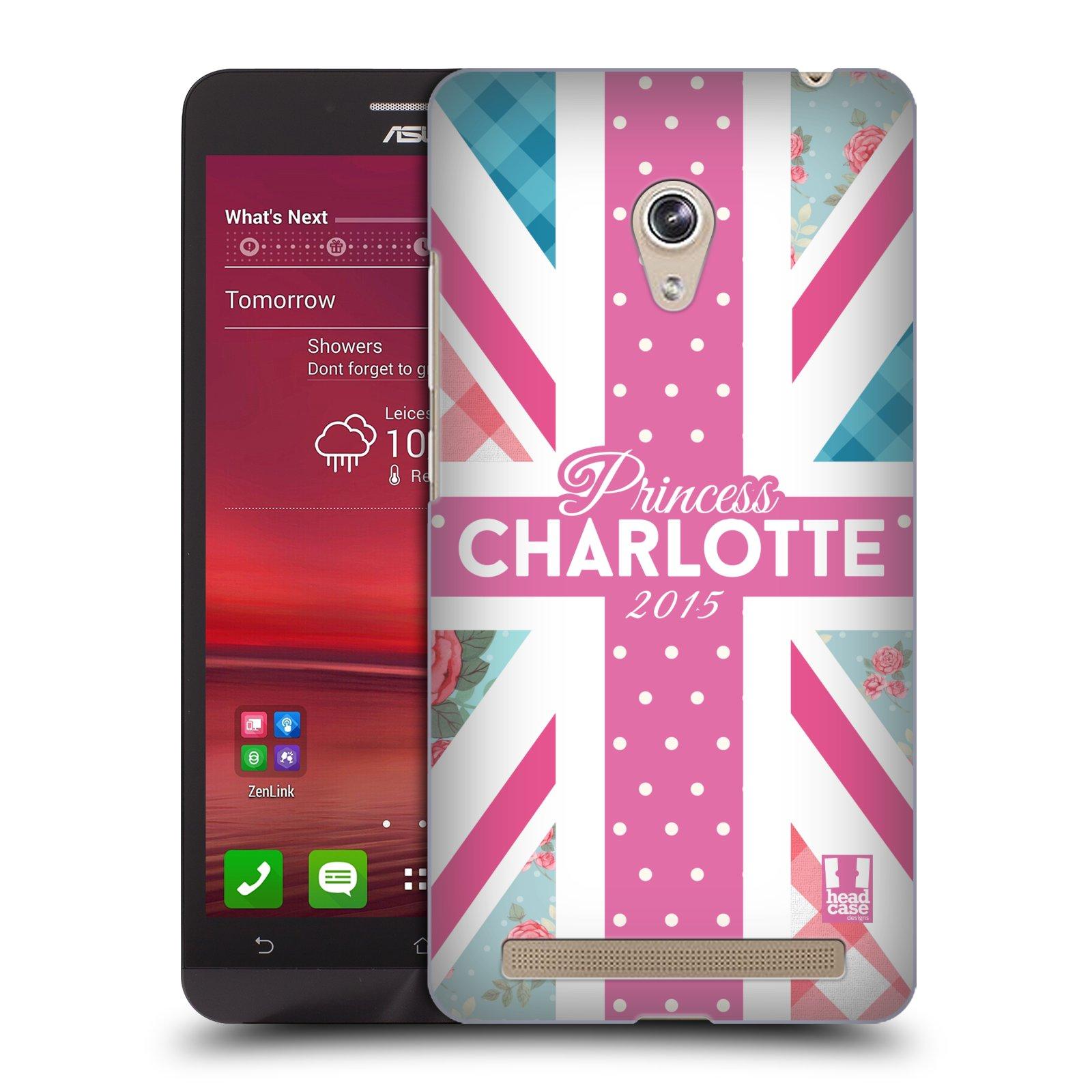 Plastové pouzdro na mobil Asus Zenfone 6 HEAD CASE PRINCEZNIČKA CHARLOTTE (Kryt či obal na mobilní telefon Asus Zenfone 6 A600CG / A601CG)