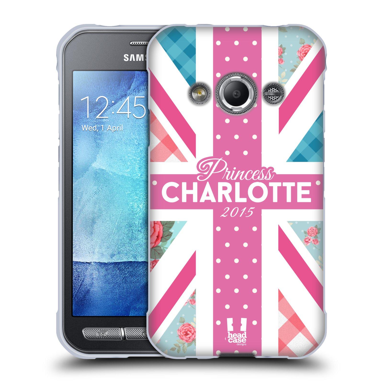 Silikonové pouzdro na mobil Samsung Galaxy Xcover 3 HEAD CASE PRINCEZNIČKA CHARLOTTE (Silikonový kryt či obal na mobilní telefon Samsung Galaxy Xcover 3 SM-G388F)