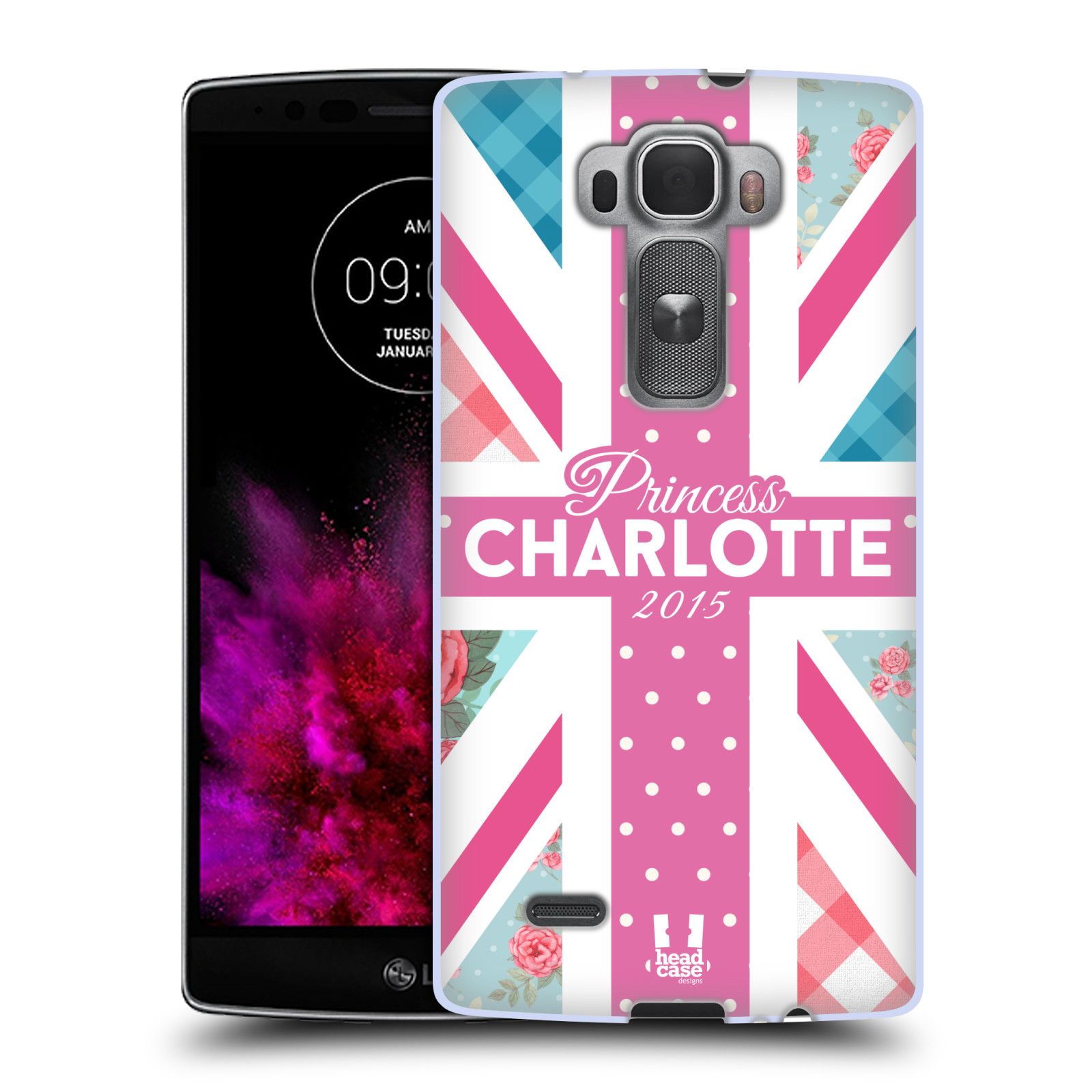 Silikonové pouzdro na mobil LG G Flex 2 HEAD CASE PRINCEZNIČKA CHARLOTTE (Silikonový kryt či obal na mobilní telefon LG G Flex 2 H955)