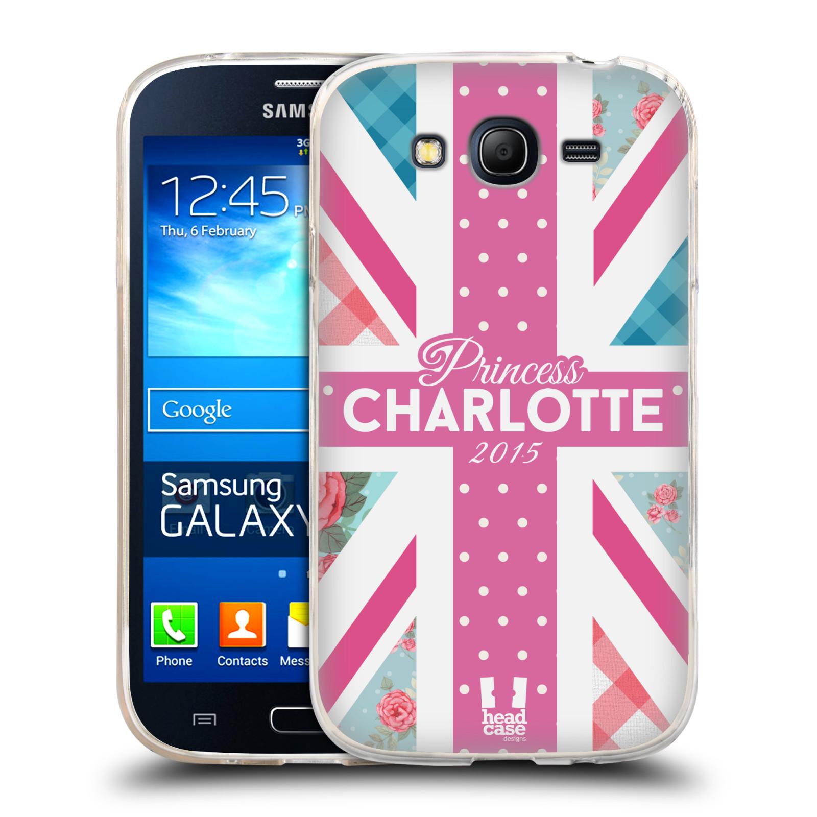 Silikonové pouzdro na mobil Samsung Galaxy Grand Neo HEAD CASE PRINCEZNIČKA CHARLOTTE (Silikonový kryt či obal na mobilní telefon Samsung Galaxy Grand Neo GT-I9060)