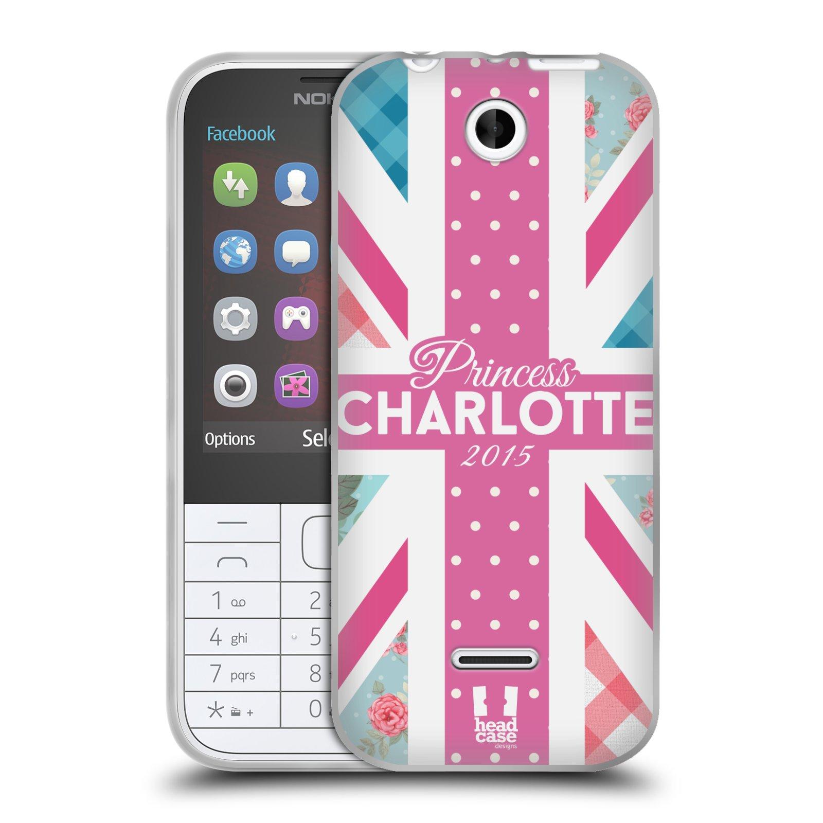 Silikonové pouzdro na mobil Nokia 225 HEAD CASE PRINCEZNIČKA CHARLOTTE (Silikonový kryt či obal na mobilní telefon Nokia 225)