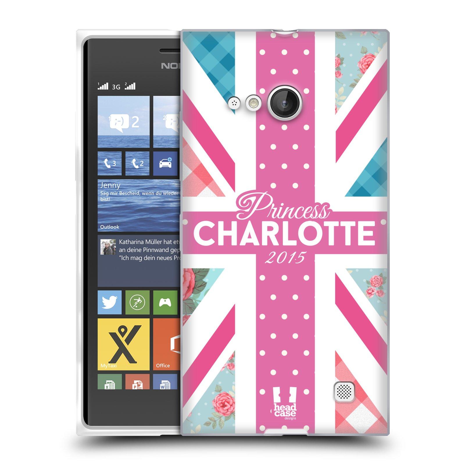 Silikonové pouzdro na mobil Nokia Lumia 730 Dual SIM HEAD CASE PRINCEZNIČKA CHARLOTTE (Silikonový kryt či obal na mobilní telefon Nokia Lumia 730 Dual SIM)
