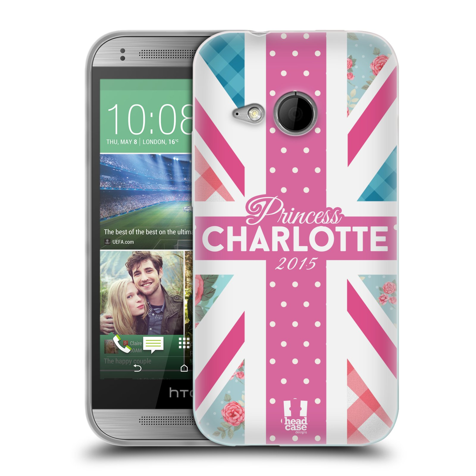 Silikonové pouzdro na mobil HTC ONE Mini 2 HEAD CASE PRINCEZNIČKA CHARLOTTE (Silikonový kryt či obal na mobilní telefon HTC ONE Mini 2)