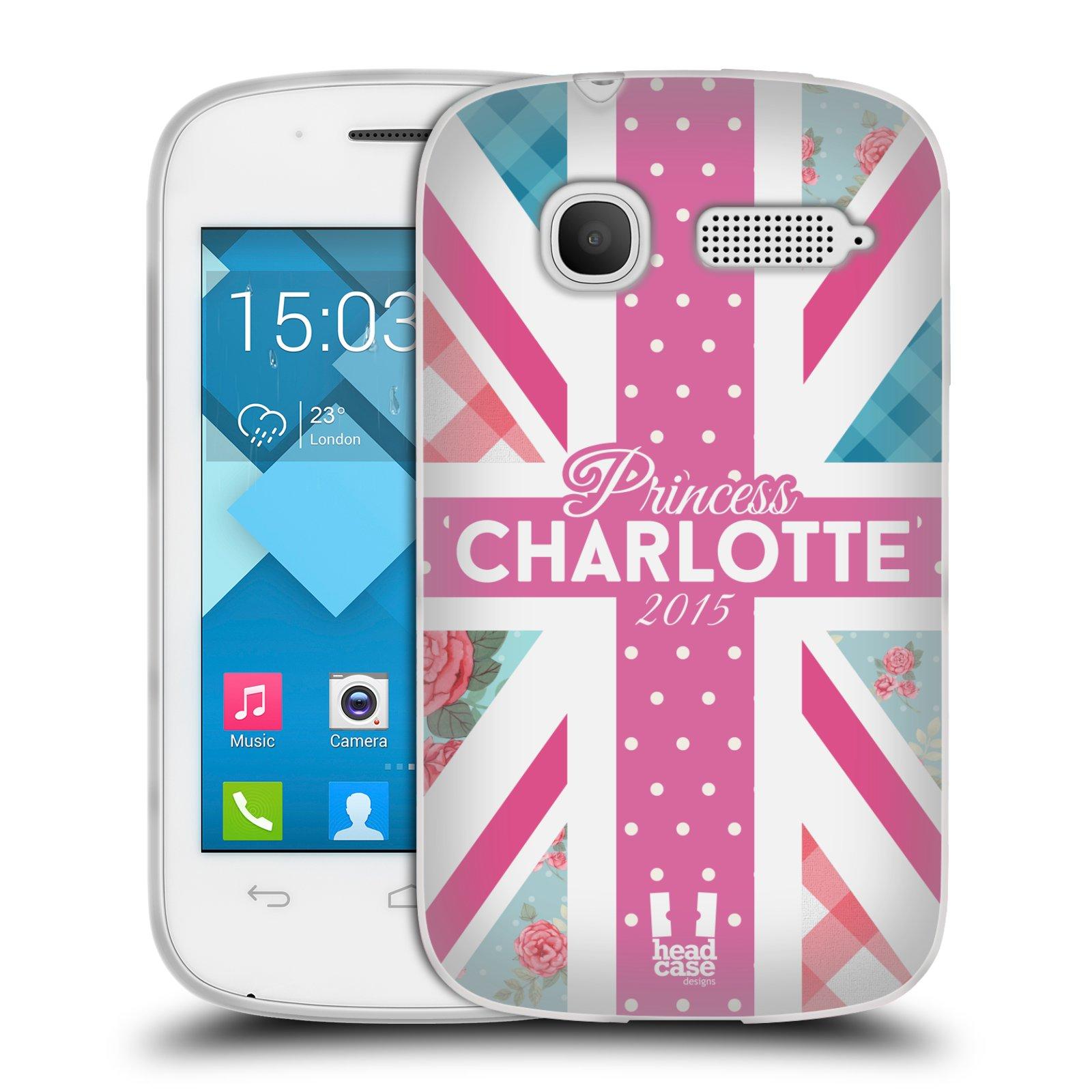 Silikonové pouzdro na mobil Alcatel One Touch Pop C1 HEAD CASE PRINCEZNIČKA CHARLOTTE (Silikonový kryt či obal na mobilní telefon Alcatel OT-4015D POP C1)