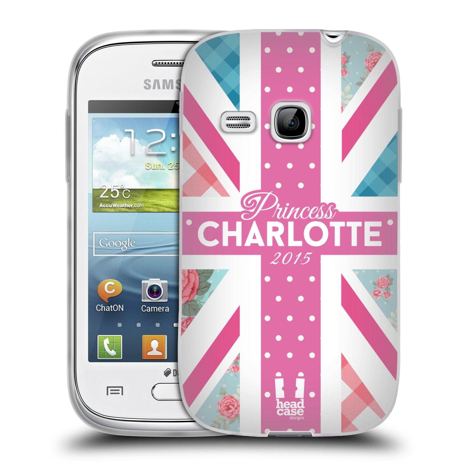 Silikonové pouzdro na mobil Samsung Galaxy Young HEAD CASE PRINCEZNIČKA CHARLOTTE (Silikonový kryt či obal na mobilní telefon Samsung Galaxy Young GT-S6310)