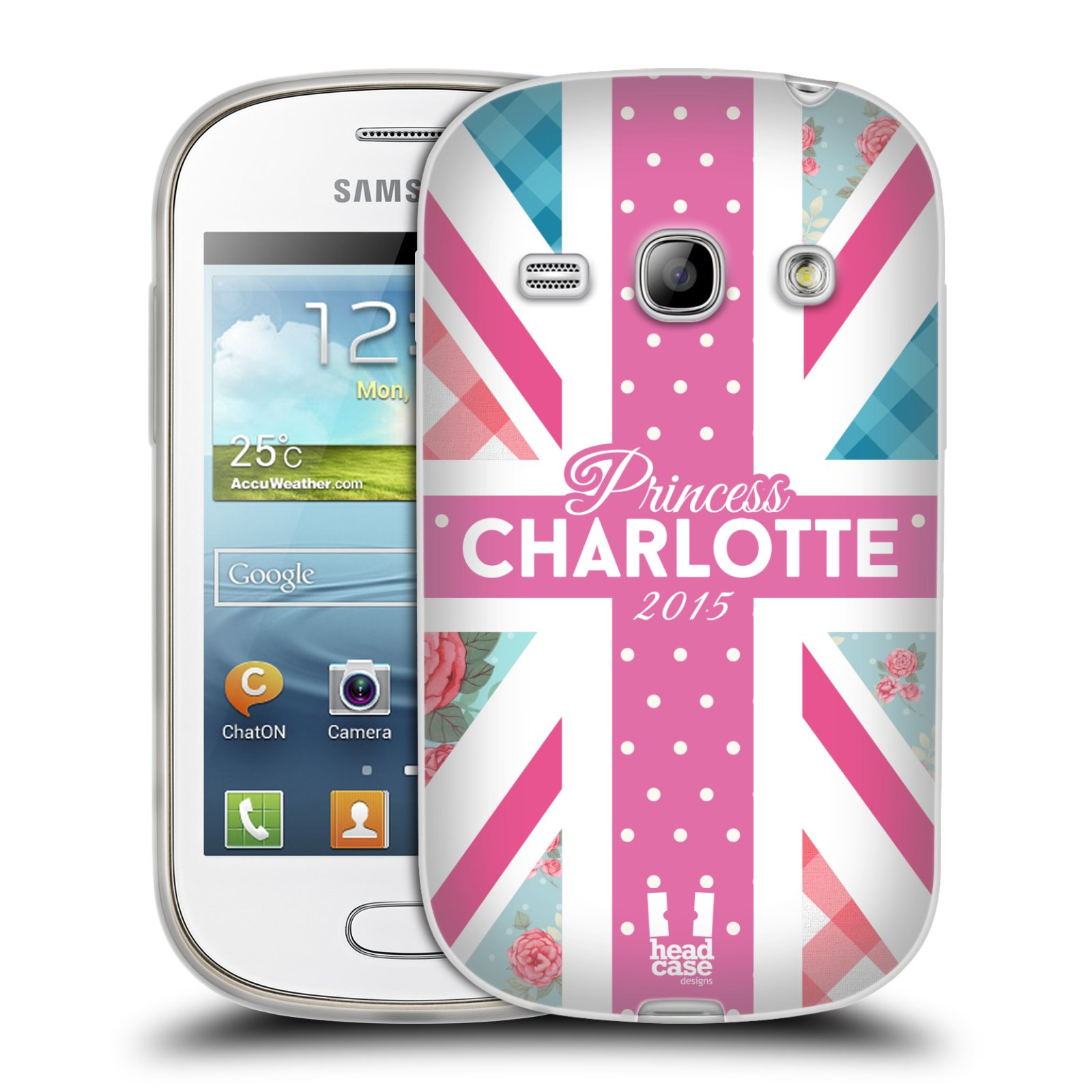 Silikonové pouzdro na mobil Samsung Galaxy Fame HEAD CASE PRINCEZNIČKA CHARLOTTE (Silikonový kryt či obal na mobilní telefon Samsung Galaxy Fame GT-S6810)