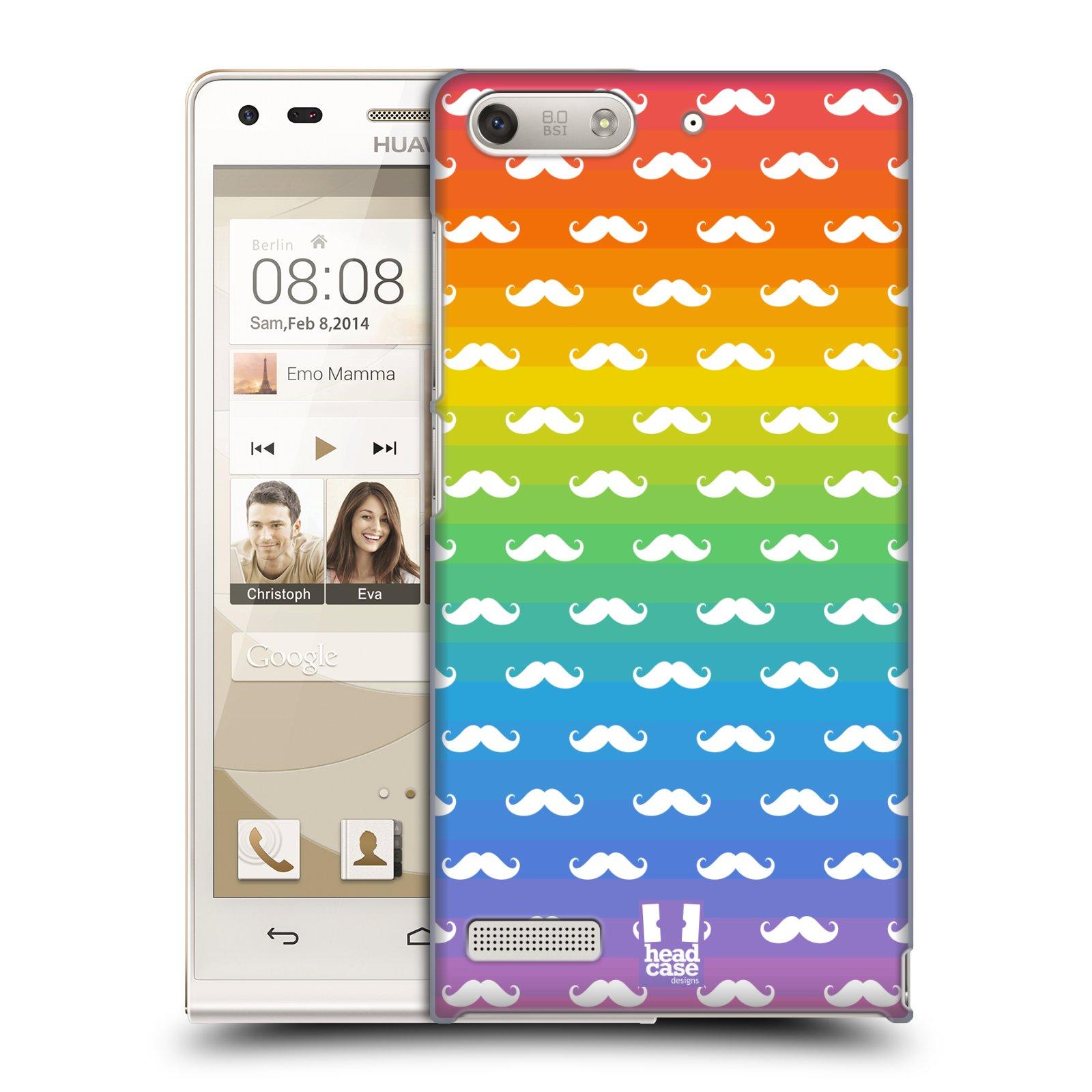 Plastové pouzdro na mobil Huawei Ascend G6 HEAD CASE DUHOVÉ KNÍRY (Kryt či obal na mobilní telefon Huawei Ascend G6 bez LTE)