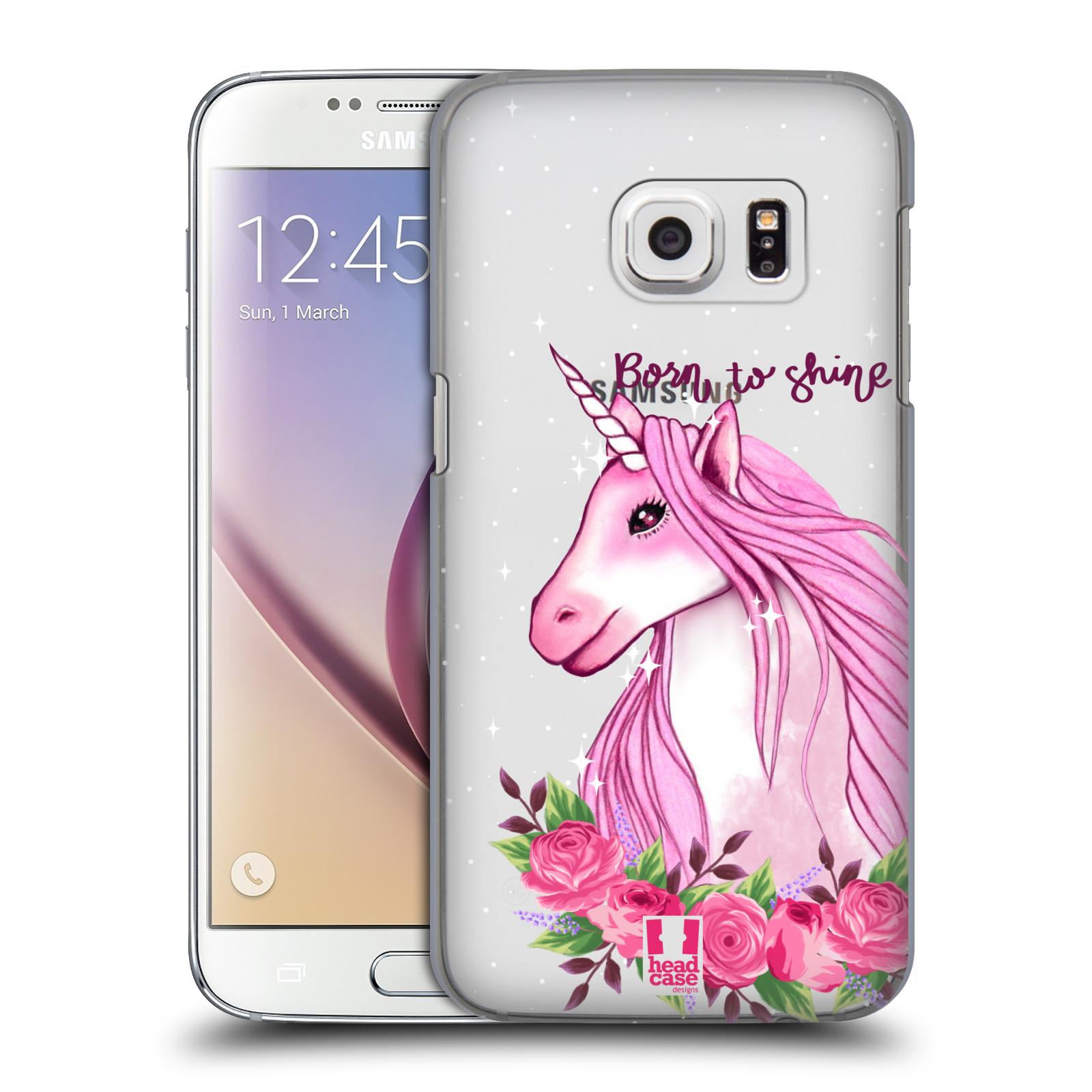 Plastové pouzdro na mobil Samsung Galaxy S7 - Head Case - Jednorožec - Born to shine
