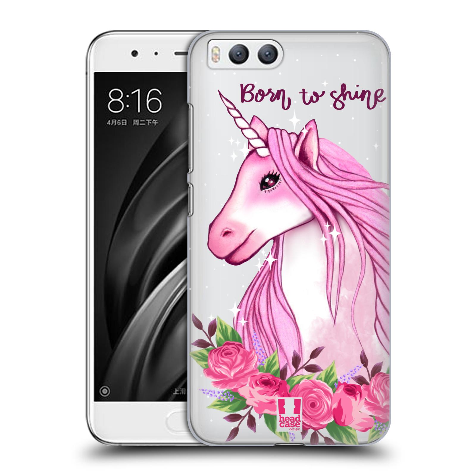 Plastové pouzdro na mobil Xiaomi Mi6 - Head Case - Jednorožec - Born to shine
