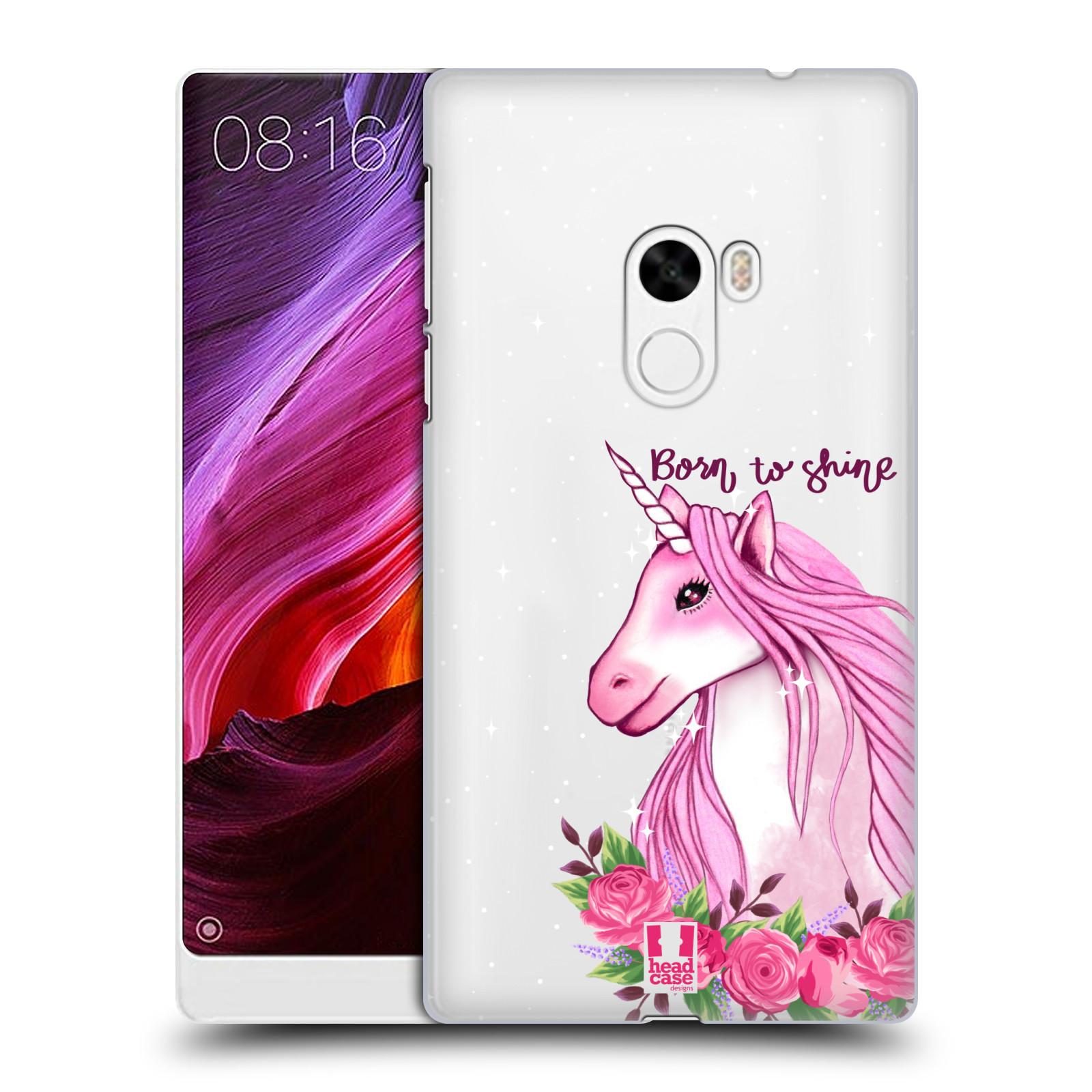 Plastové pouzdro na mobil Xiaomi Mi Mix - Head Case - Jednorožec - Born to shine
