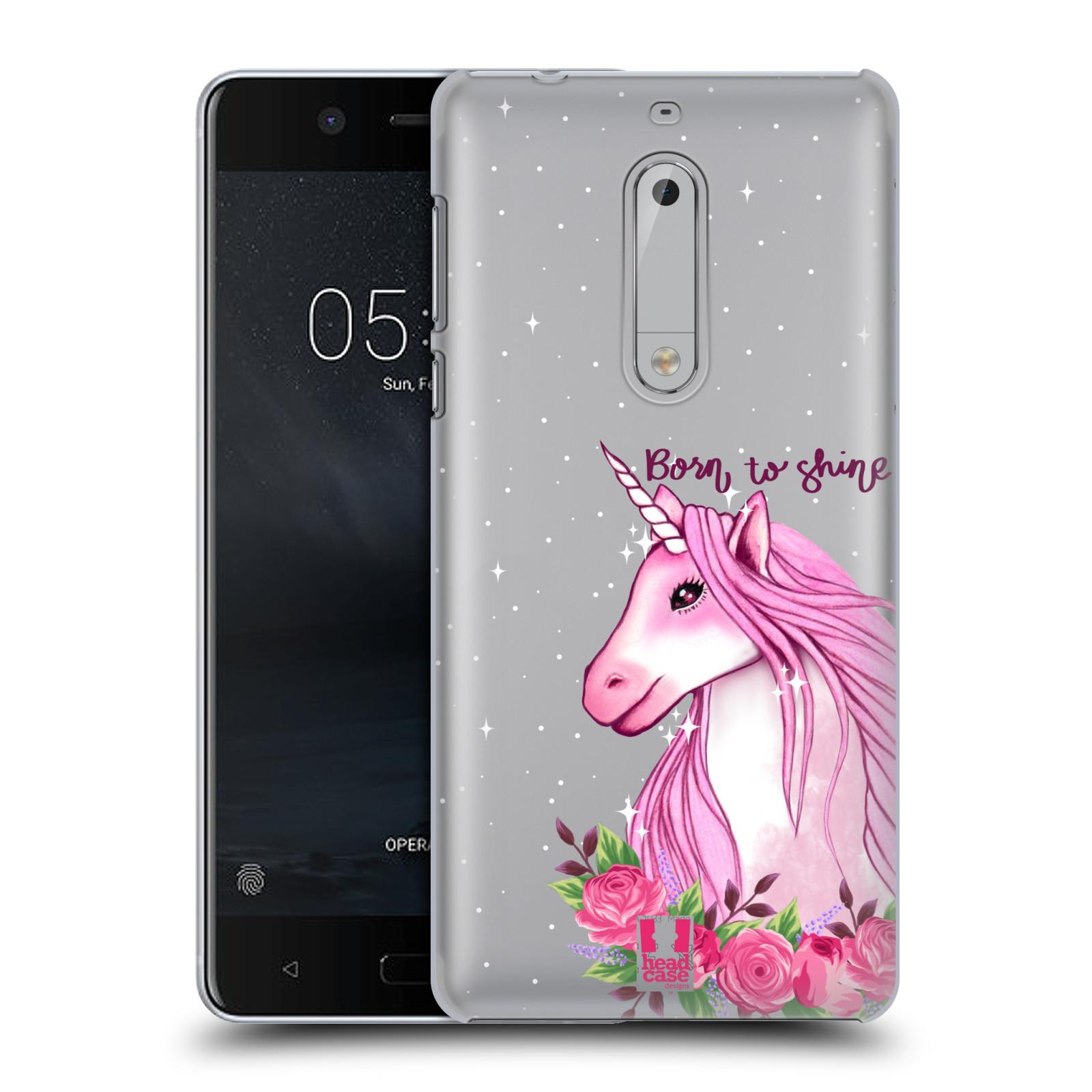 Plastové pouzdro na mobil Nokia 5 - Head Case - Jednorožec - Born to shine