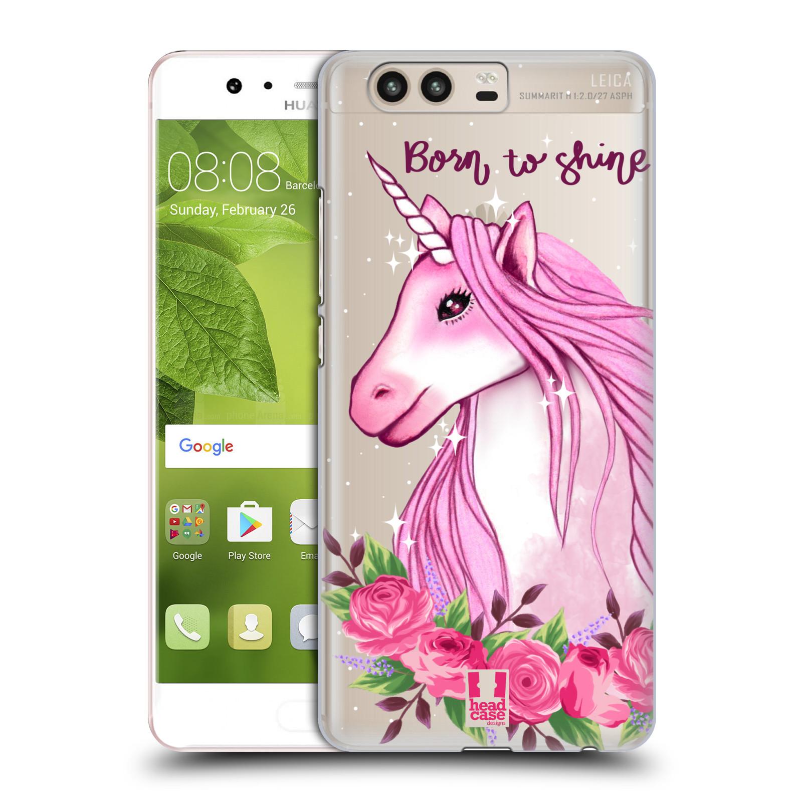 Plastové pouzdro na mobil Huawei P10 - Head Case - Jednorožec - Born to shine