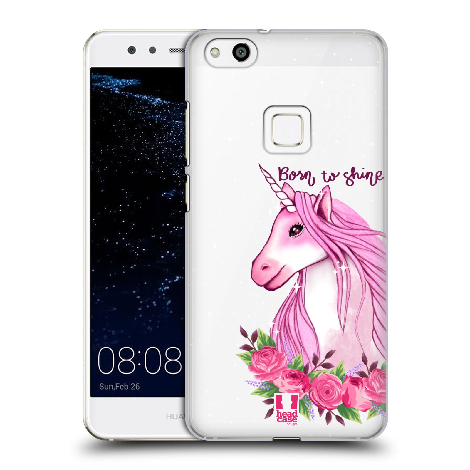 Plastové pouzdro na mobil Huawei P10 Lite - Head Case - Jednorožec - Born to shine