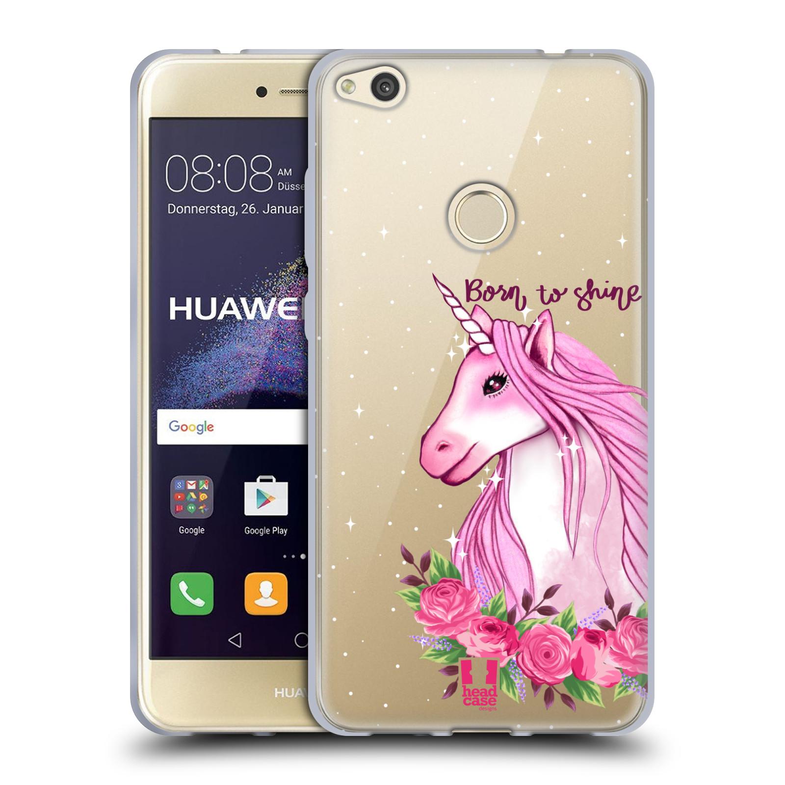 Silikonové pouzdro na mobil Huawei P9 Lite (2017) - Head Case - Jednorožec - Born to shine