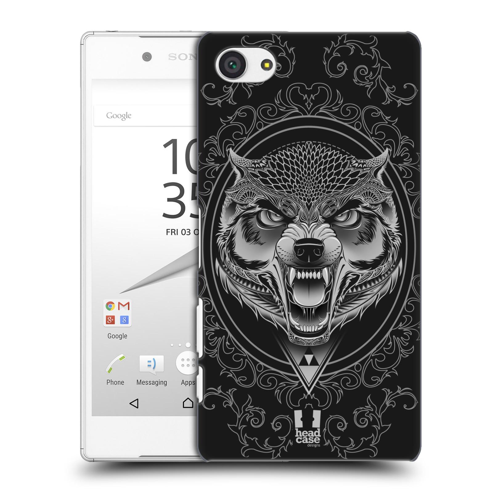 Plastové pouzdro na mobil Sony Xperia Z5 Compact - Head Case - Krutý vlk