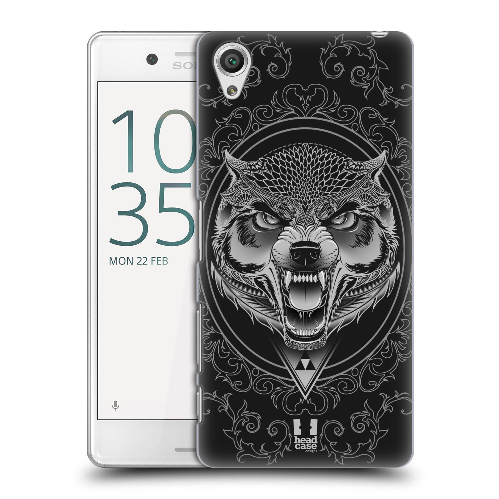 Plastové pouzdro na mobil Sony Xperia X Performance - Head Case - Krutý vlk
