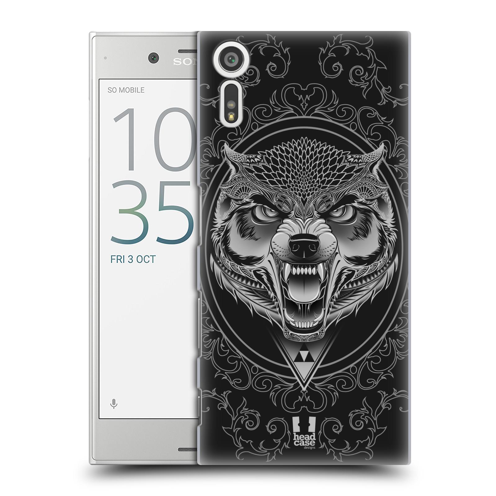 Plastové pouzdro na mobil Sony Xperia XZ - Head Case - Krutý vlk