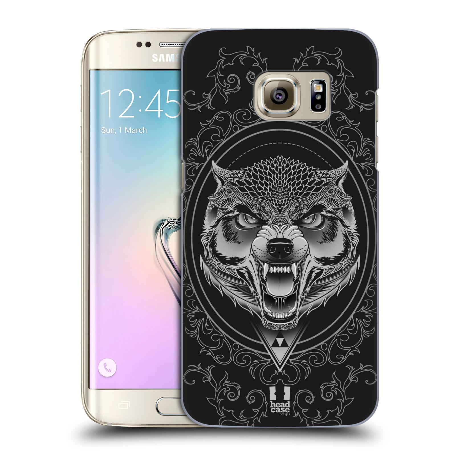 Plastové pouzdro na mobil Samsung Galaxy S7 Edge - Head Case - Krutý vlk