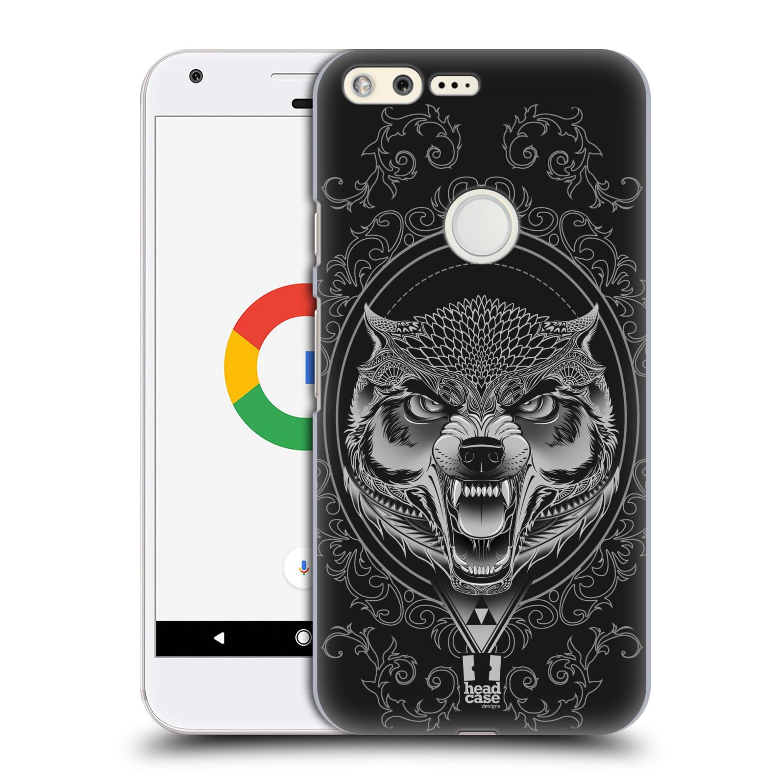 Plastové pouzdro na mobil Google Pixel - Head Case - Krutý vlk