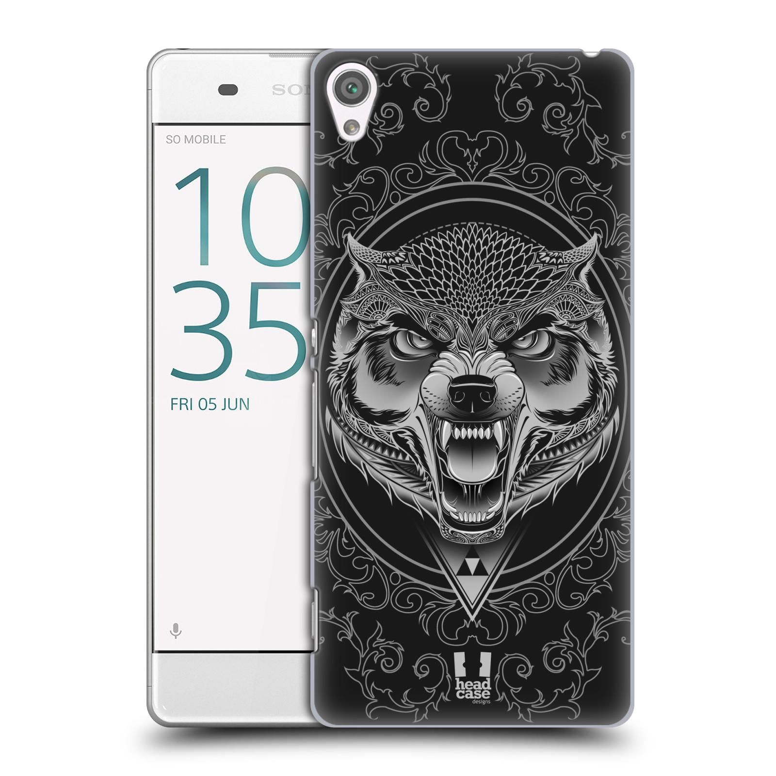 Plastové pouzdro na mobil Sony Xperia XA - Head Case - Krutý vlk