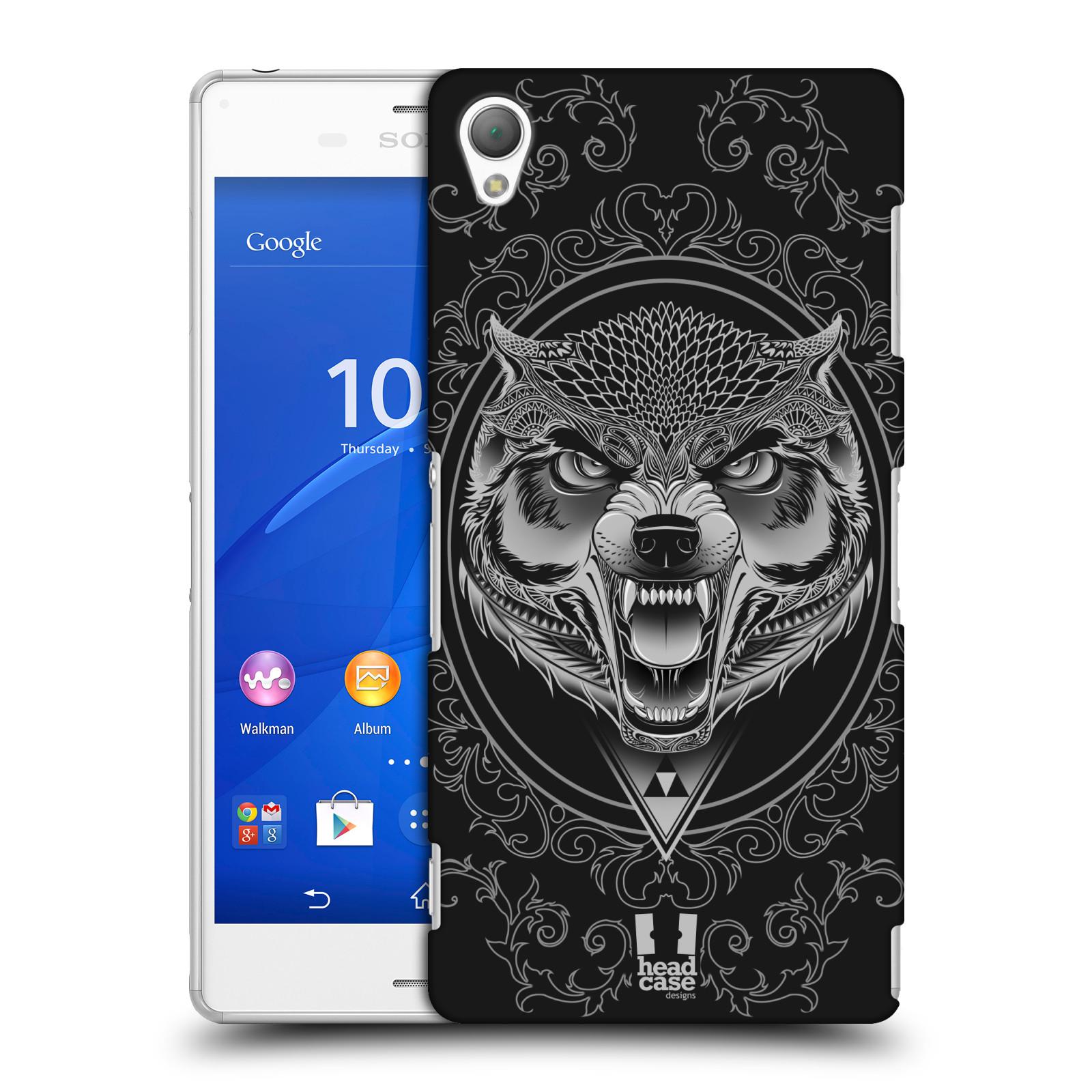 Plastové pouzdro na mobil Sony Xperia Z3 D6603 - Head Case - Krutý vlk