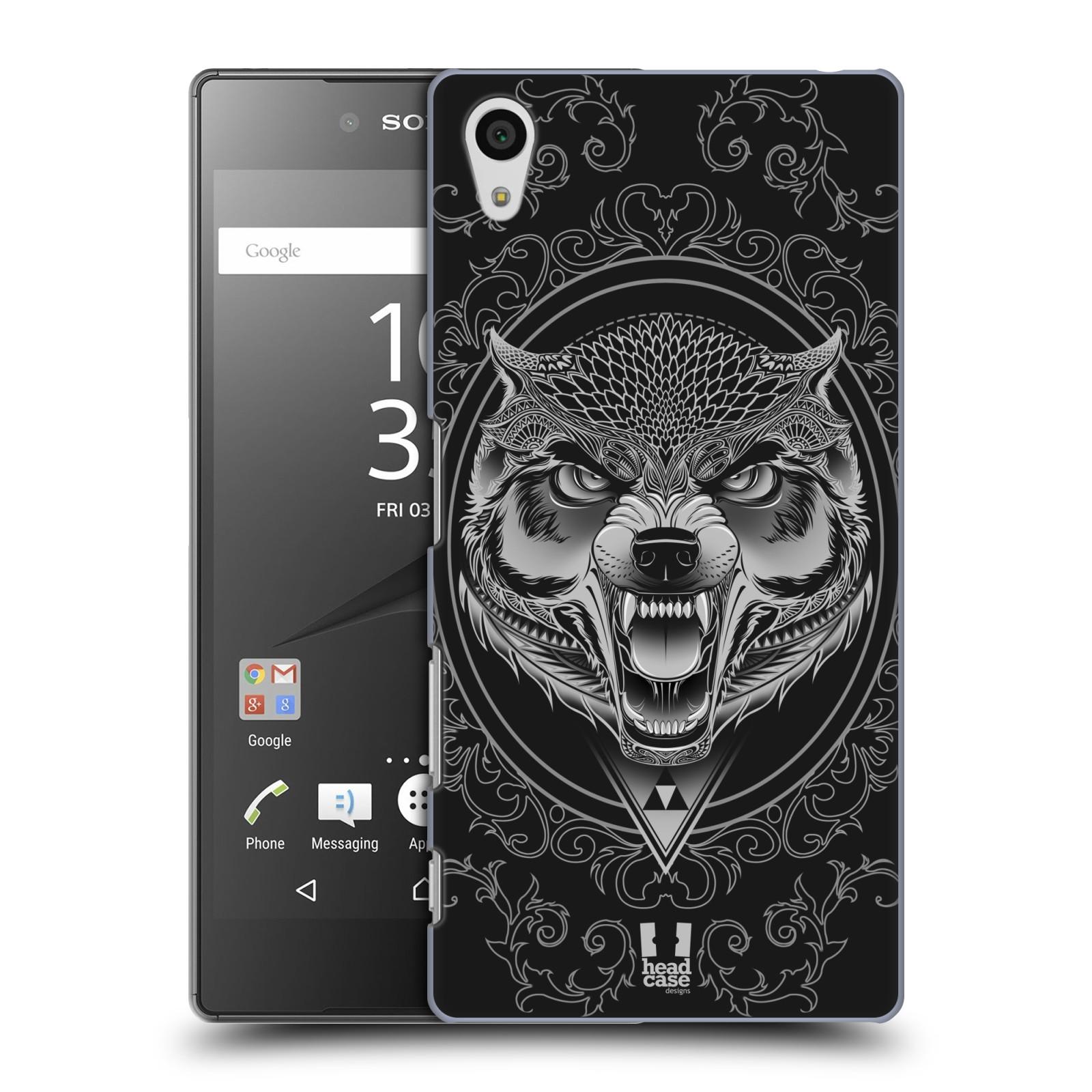 Plastové pouzdro na mobil Sony Xperia Z5 - Head Case - Krutý vlk