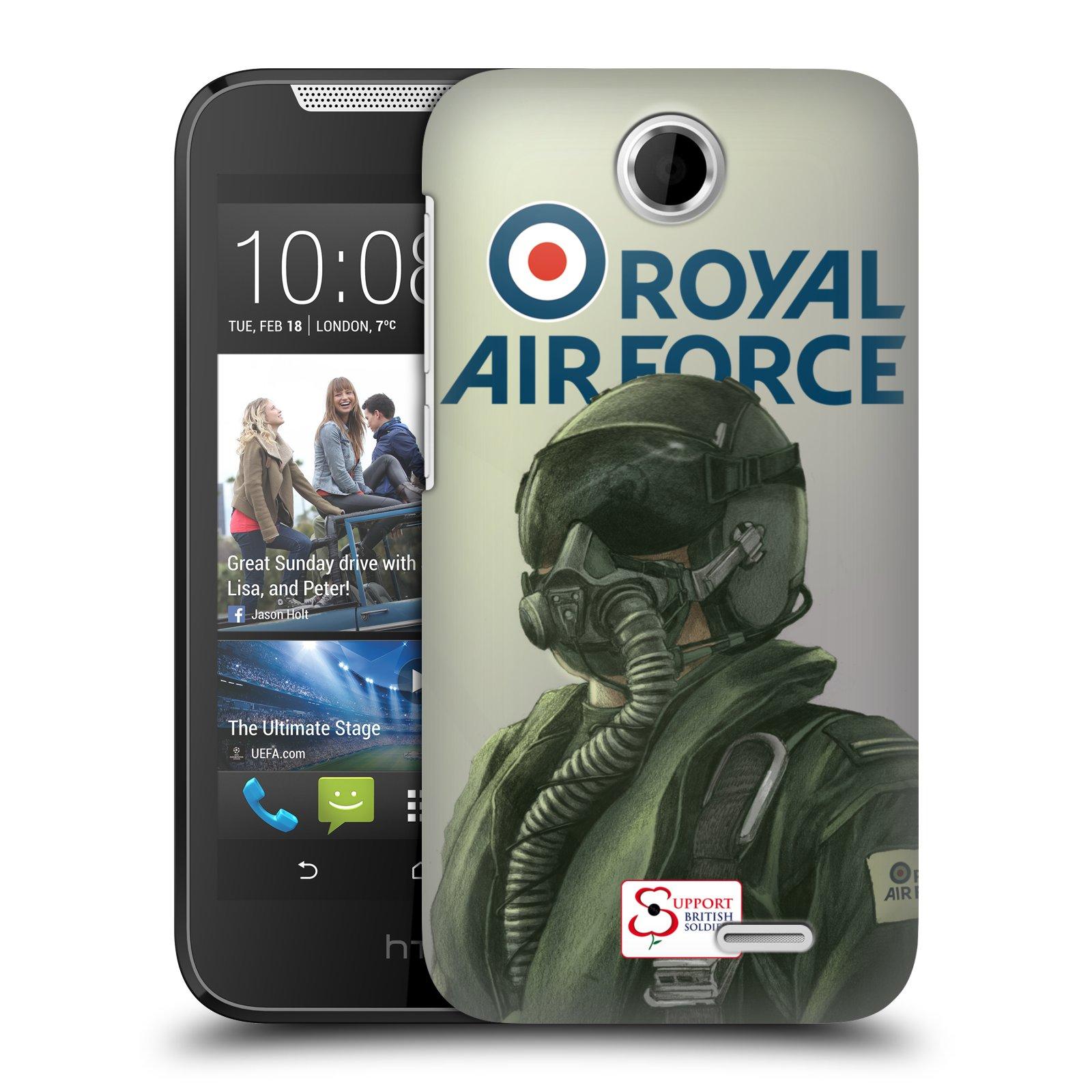Plastové pouzdro na mobil HTC Desire 310 HEAD CASE Royal Air Force (Kryt či obal na mobilní telefon HTC Desire 310)