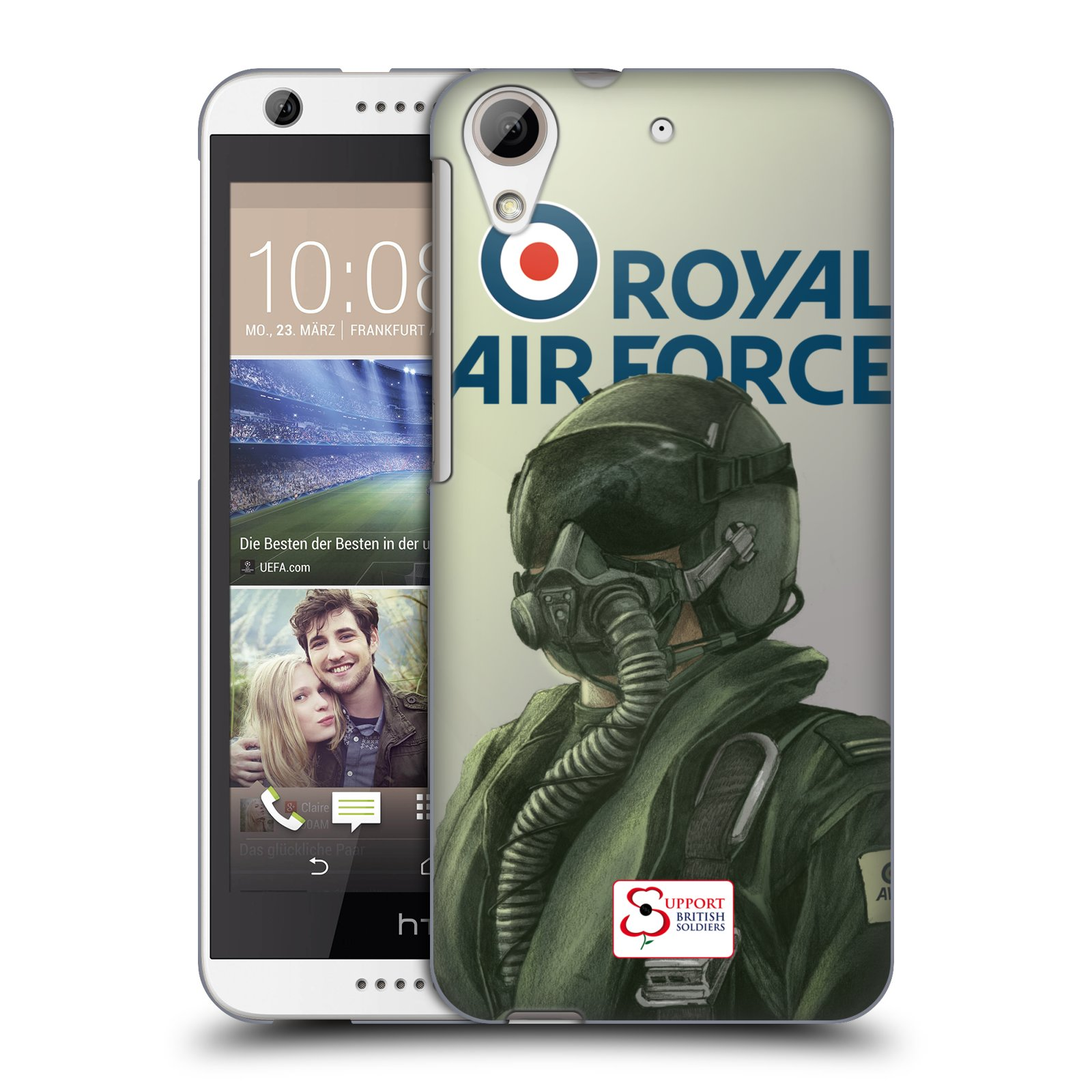 Plastové pouzdro na mobil HTC Desire 626 / 626G HEAD CASE Royal Air Force (Kryt či obal na mobilní telefon HTC Desire 626G Dual SIM a HTC Desire 626)