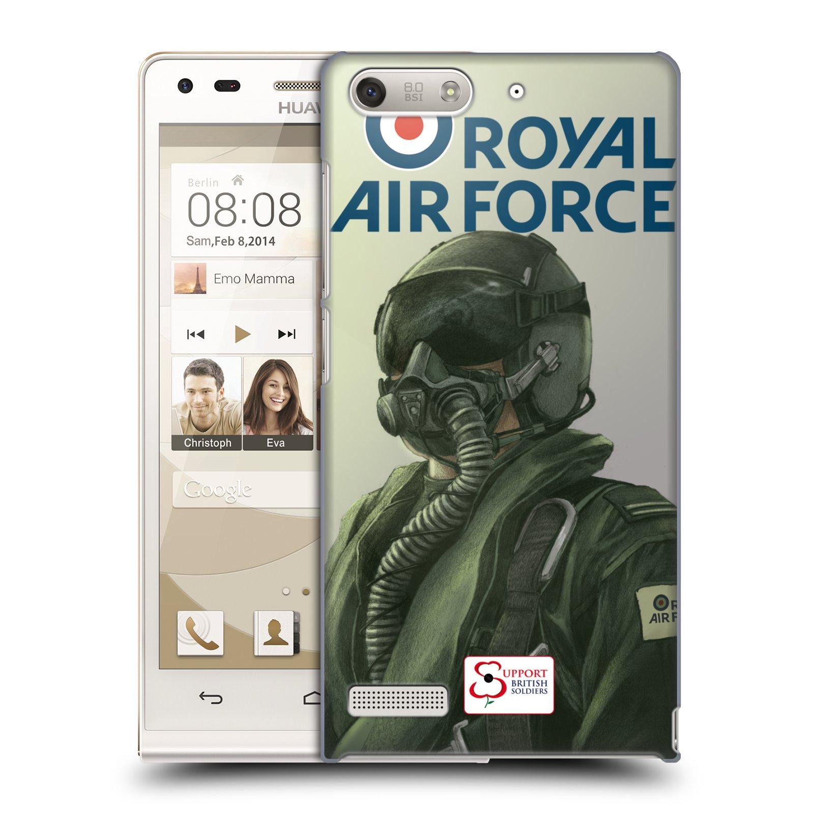 Plastové pouzdro na mobil Huawei Ascend G6 HEAD CASE Royal Air Force (Kryt či obal na mobilní telefon Huawei Ascend G6 bez LTE)