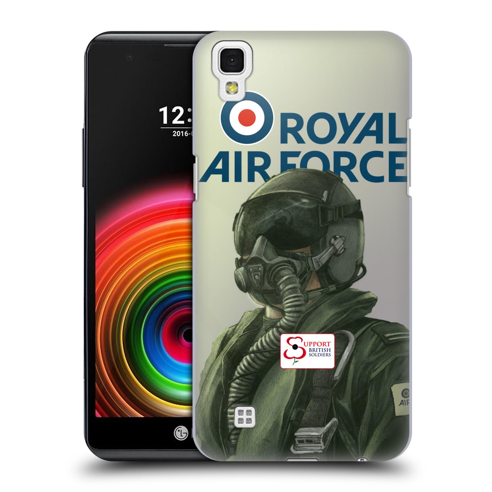Plastové pouzdro na mobil LG X Power - Head Case Royal Air Force (Plastový kryt či obal na mobilní telefon LG X Power K220)