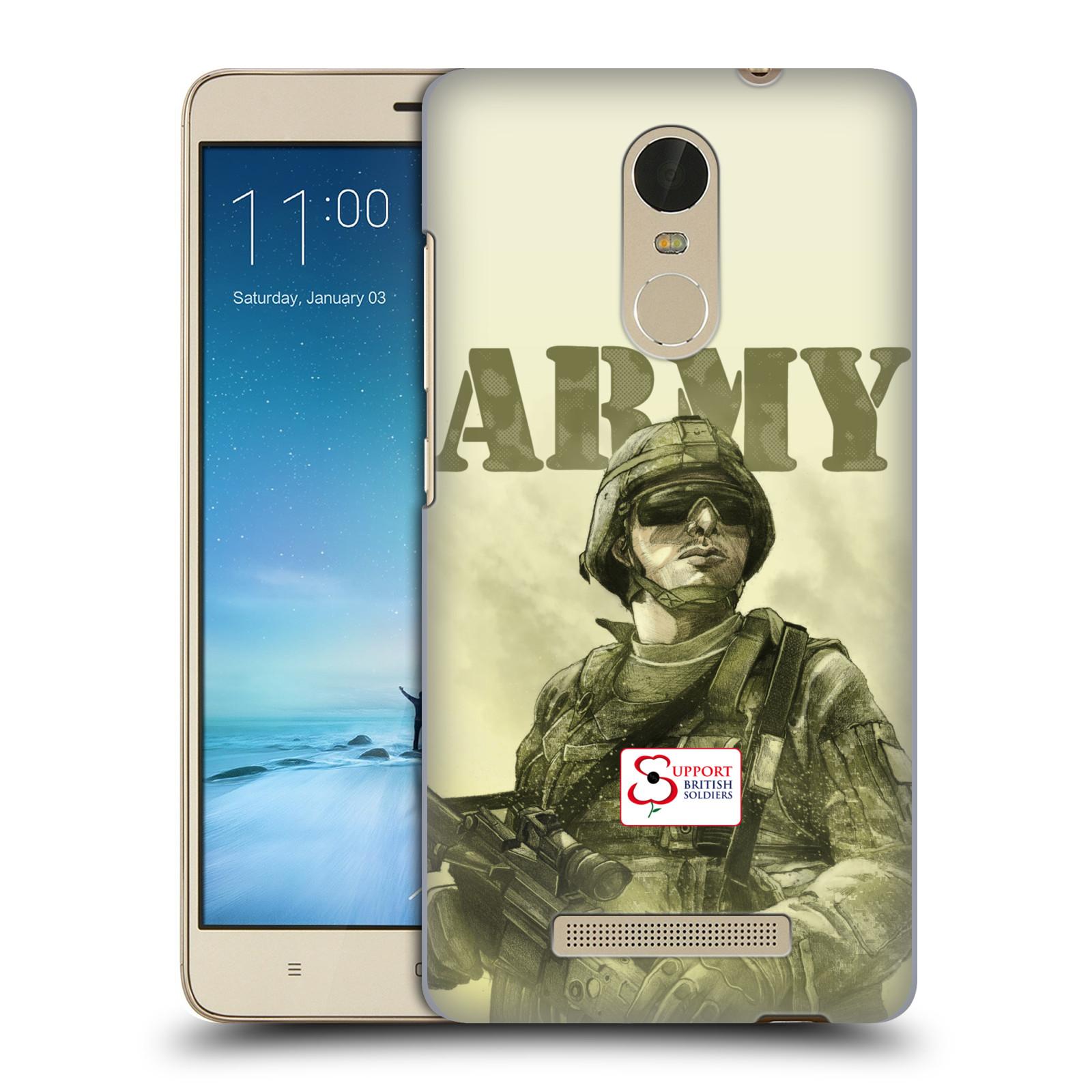"Plastové pouzdro na mobil Xiaomi Redmi Note 3 HEAD CASE BRITISH ARMY (Kryt či obal na mobilní telefon Xiaomi Redmi Note 3 s 5,5"" displejem)"