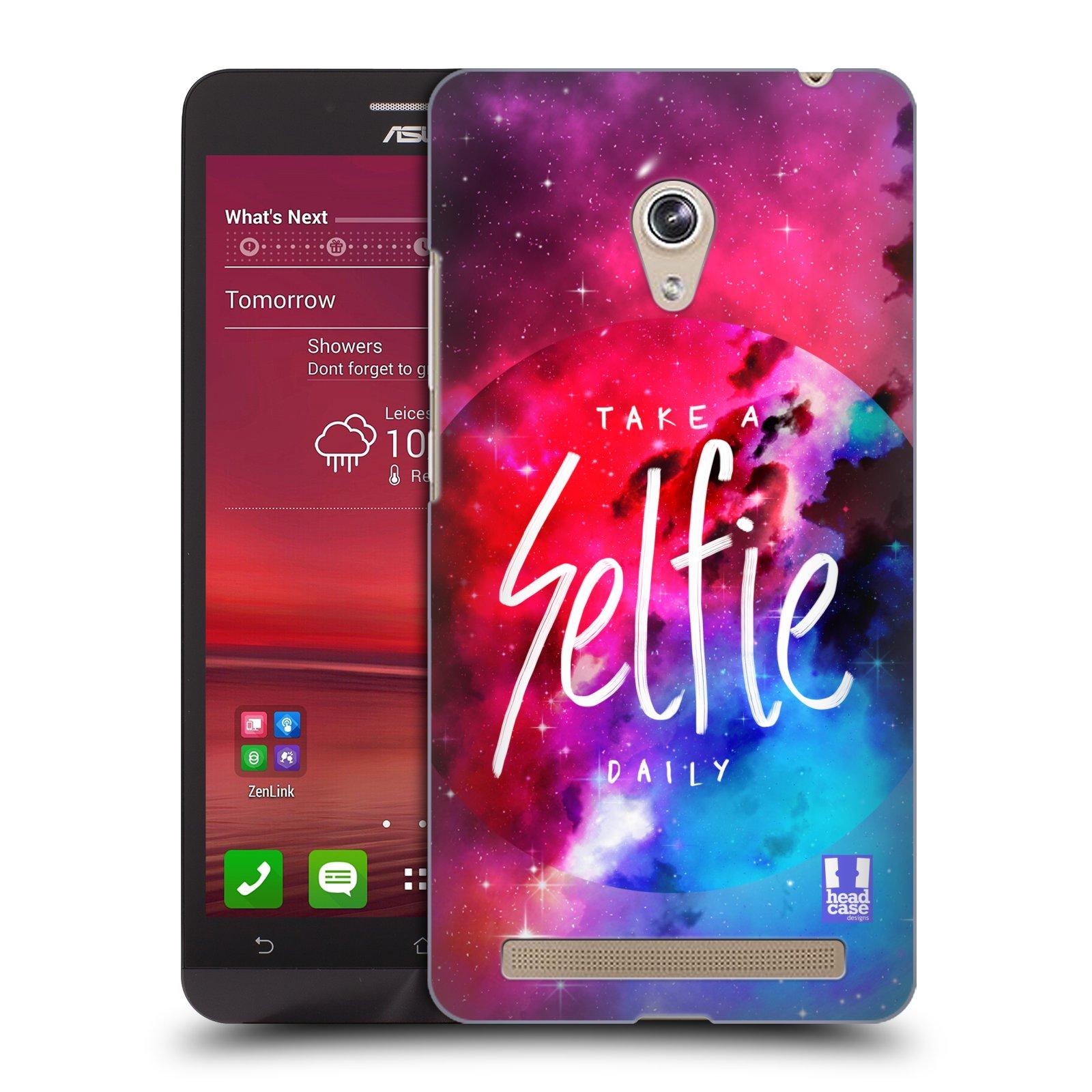 Plastové pouzdro na mobil Asus Zenfone 6 HEAD CASE SELFIE DAILY (Kryt či obal na mobilní telefon Asus Zenfone 6 A600CG / A601CG)