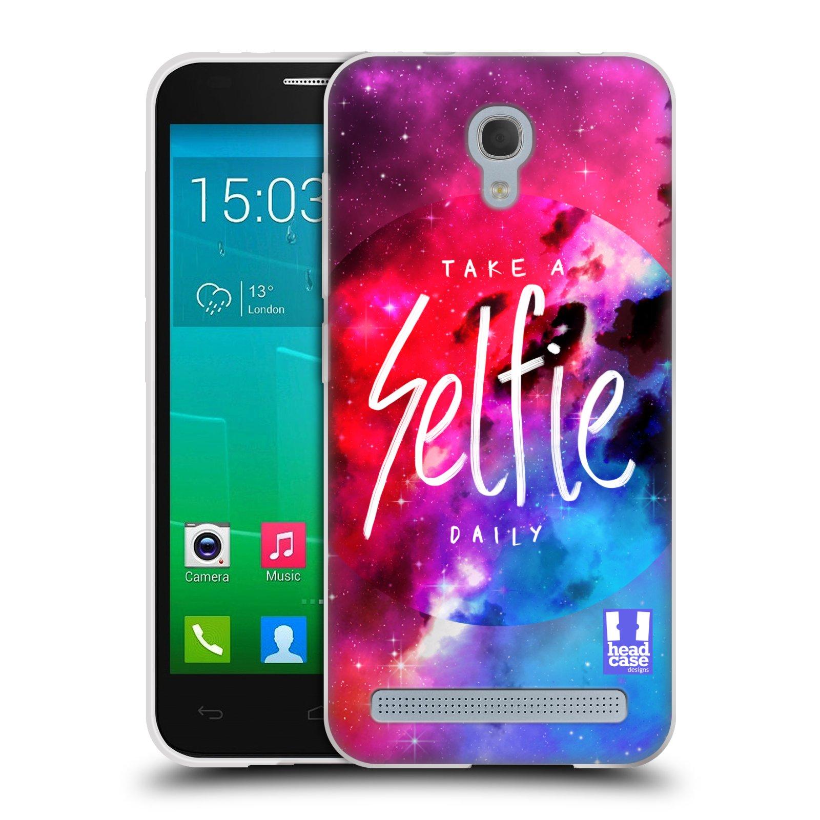 Silikonové pouzdro na mobil Alcatel One Touch Idol 2 Mini S 6036Y HEAD CASE SELFIE DAILY