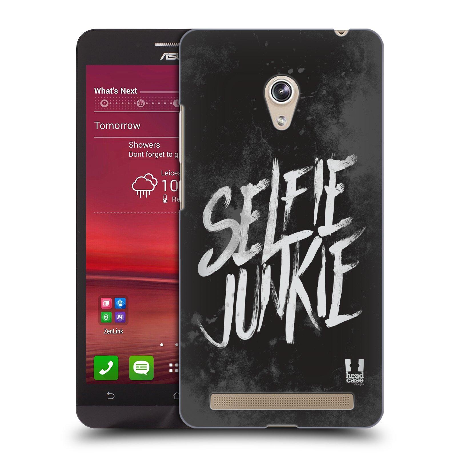 Plastové pouzdro na mobil Asus Zenfone 6 HEAD CASE SELFIE JUNKIE (Kryt či obal na mobilní telefon Asus Zenfone 6 A600CG / A601CG)