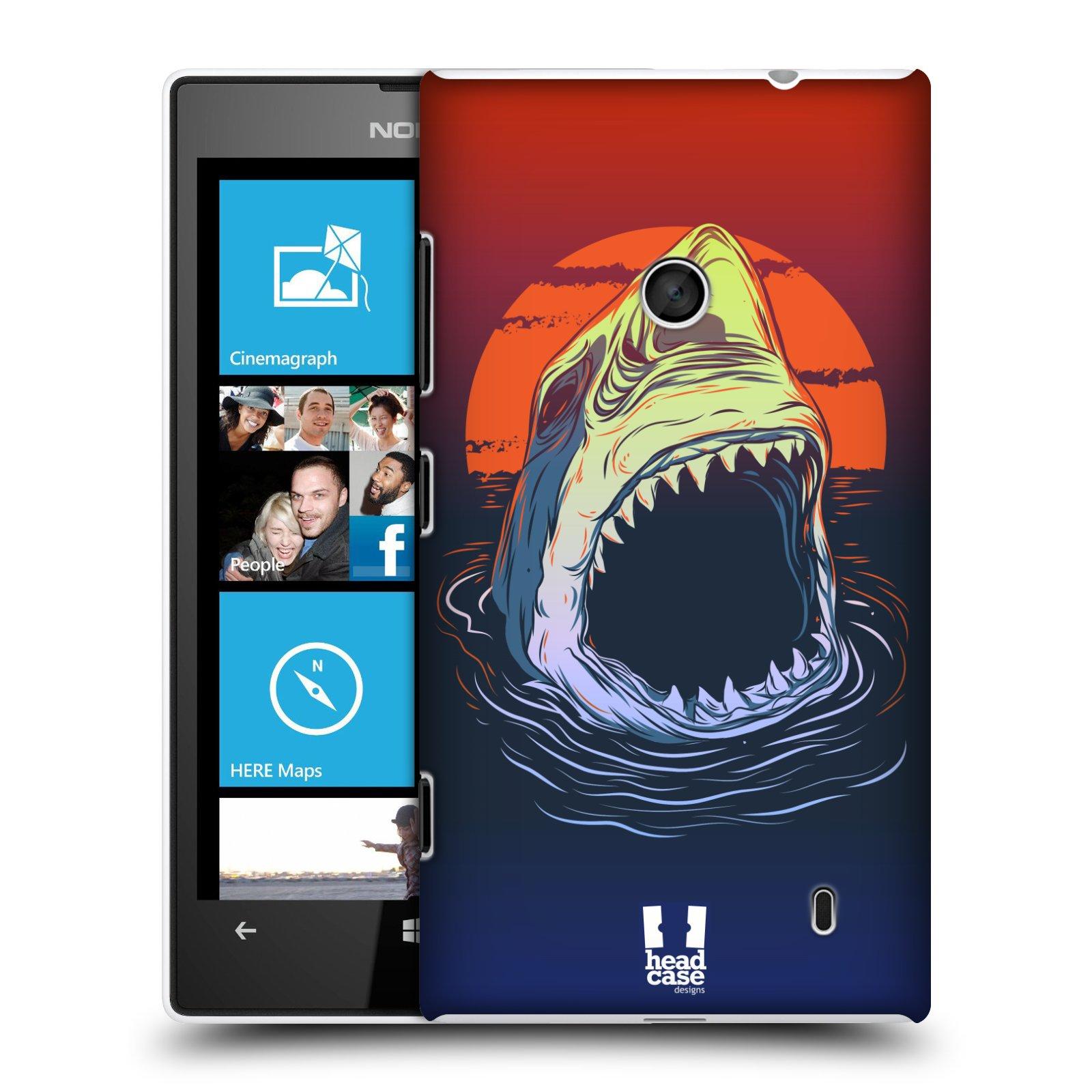 Plastové pouzdro na mobil Nokia Lumia 520 HEAD CASE HLADOVÝ ŽRALOK (Kryt či obal na mobilní telefon Nokia Lumia 520 )