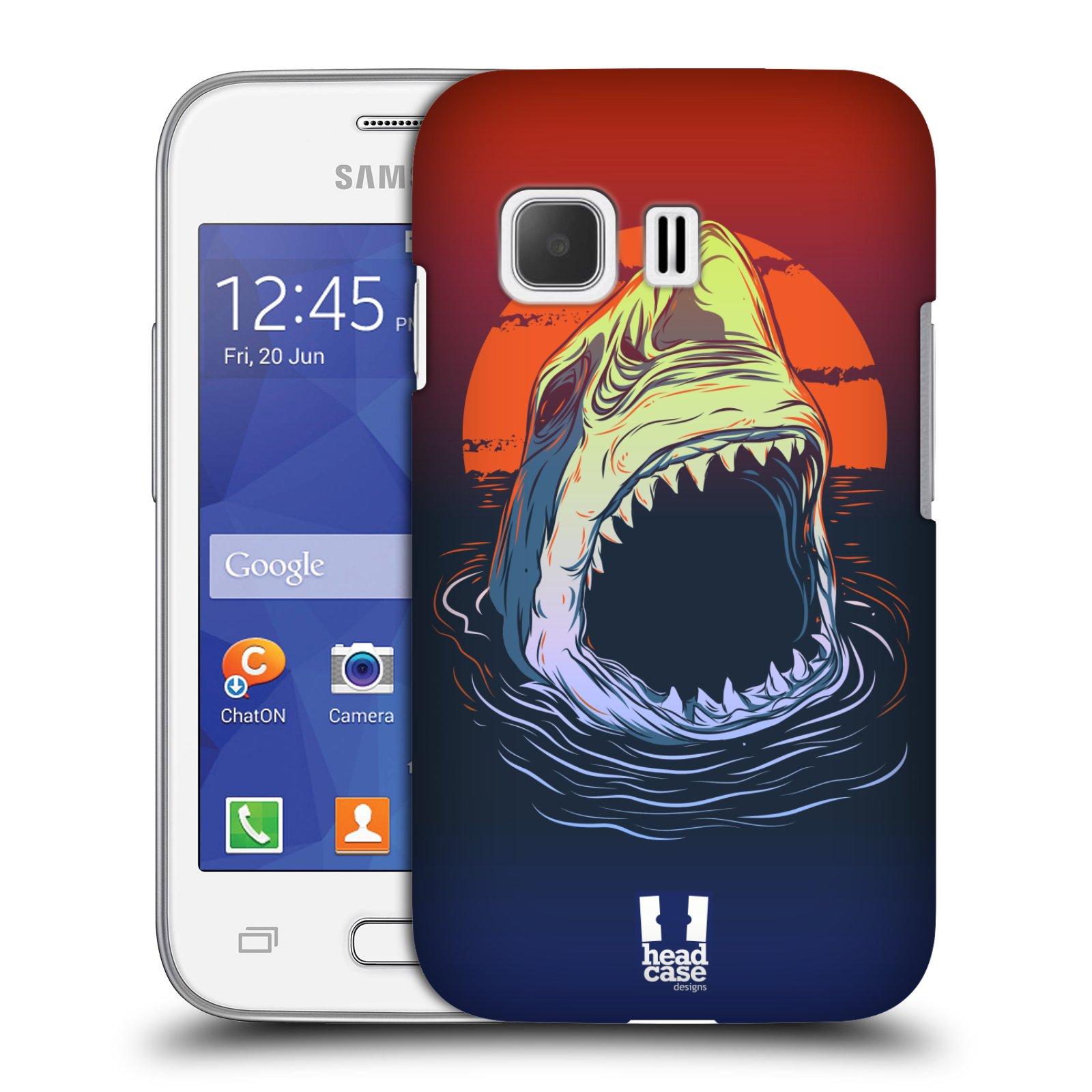 Plastové pouzdro na mobil Samsung Galaxy Young 2 HEAD CASE HLADOVÝ ŽRALOK (Kryt či obal na mobilní telefon Samsung Galaxy Young 2 SM-G130)