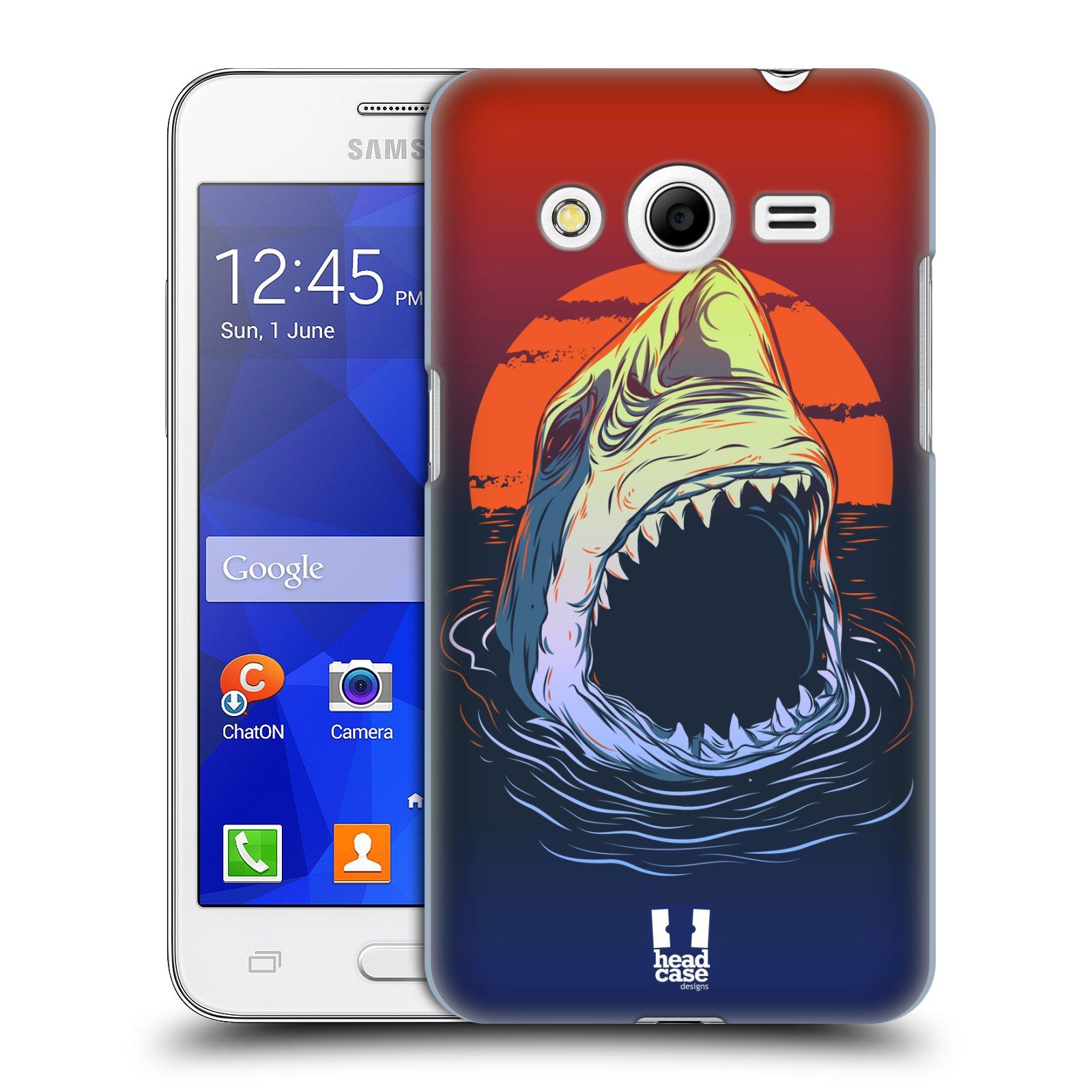 Plastové pouzdro na mobil Samsung Galaxy Core 2 HEAD CASE HLADOVÝ ŽRALOK (Kryt či obal na mobilní telefon Samsung Galaxy Core 2 SM-G355H)