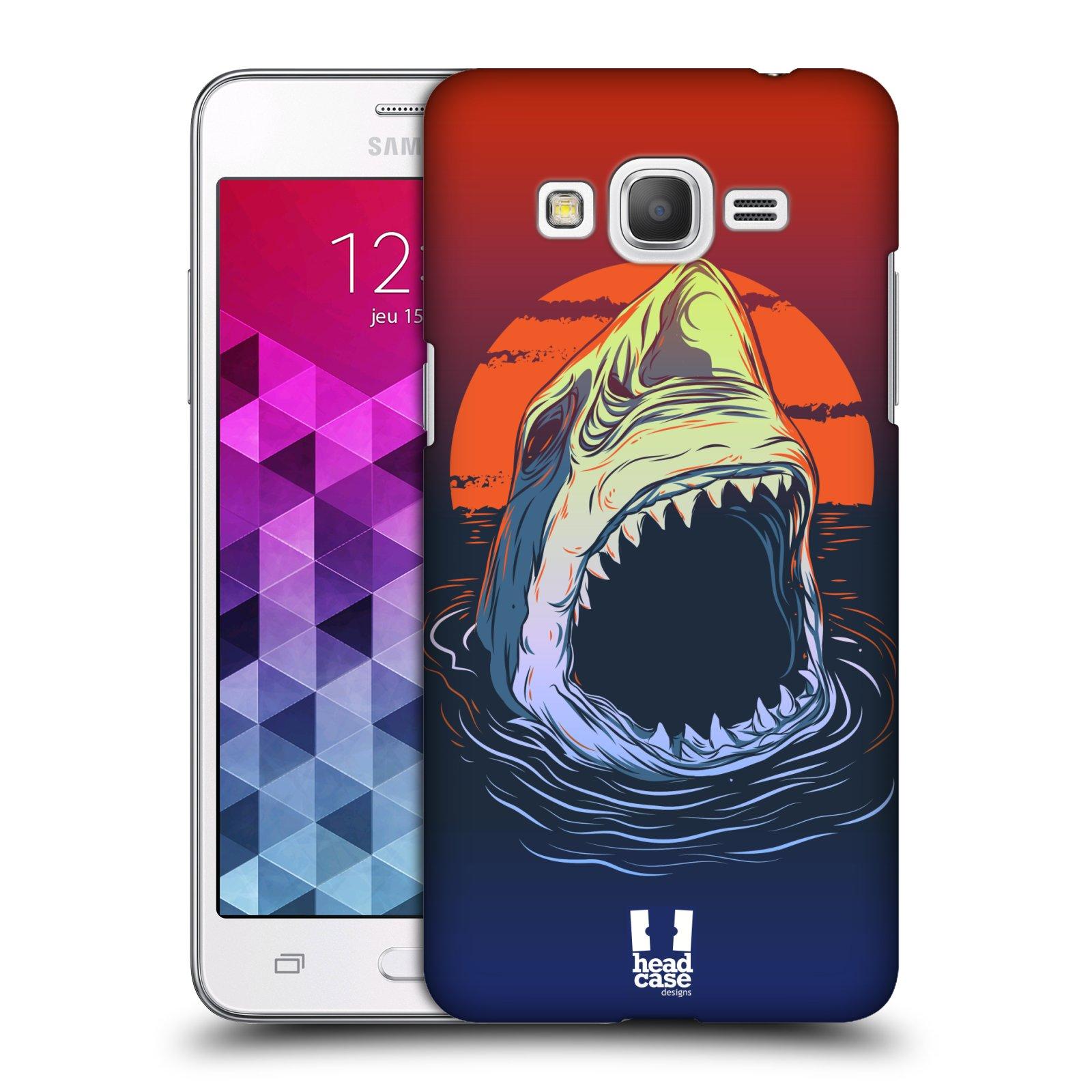 Plastové pouzdro na mobil Samsung Galaxy Grand Prime VE HEAD CASE HLADOVÝ ŽRALOK
