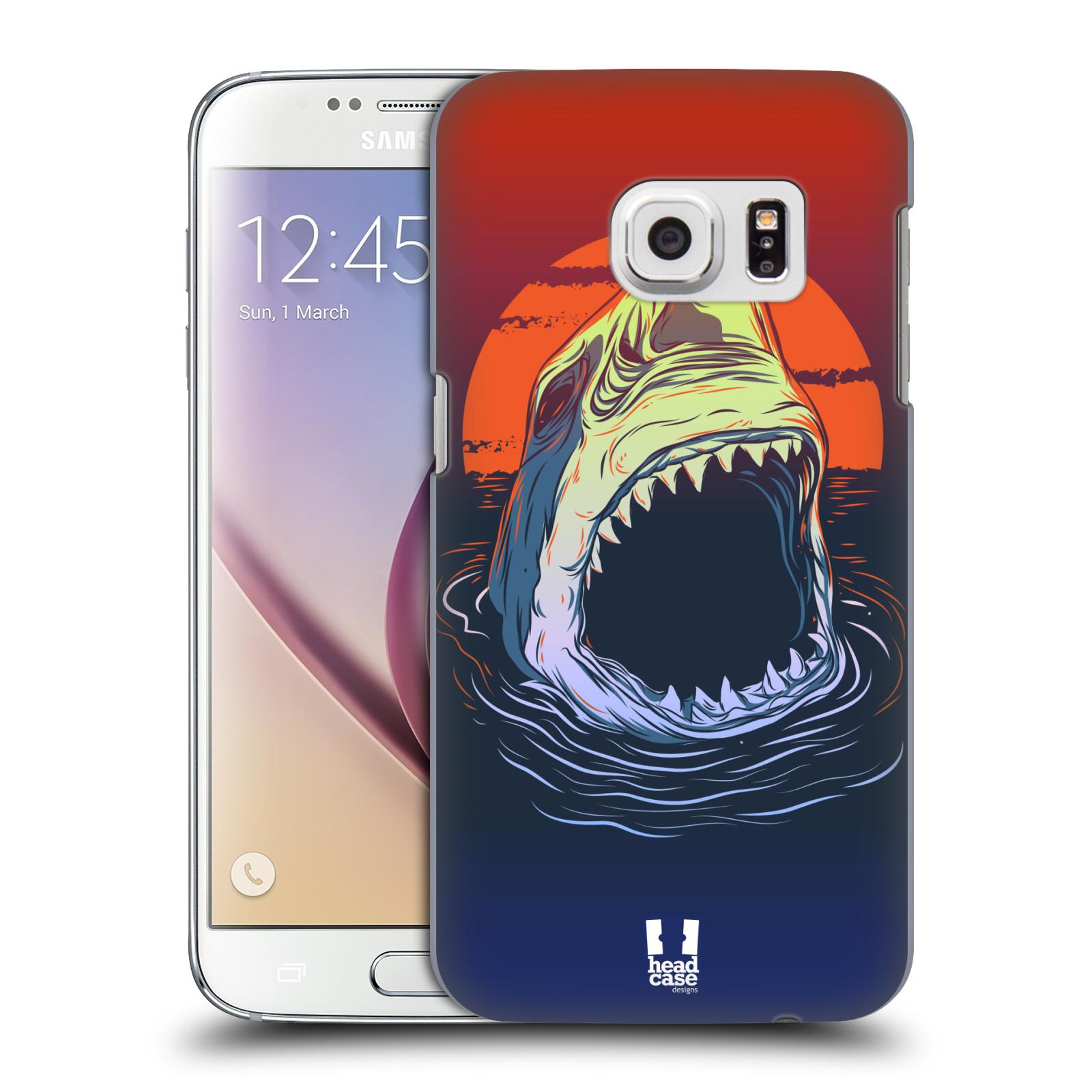 Plastové pouzdro na mobil Samsung Galaxy S7 HEAD CASE HLADOVÝ ŽRALOK (Kryt či obal na mobilní telefon Samsung Galaxy S7 SM-G930F)
