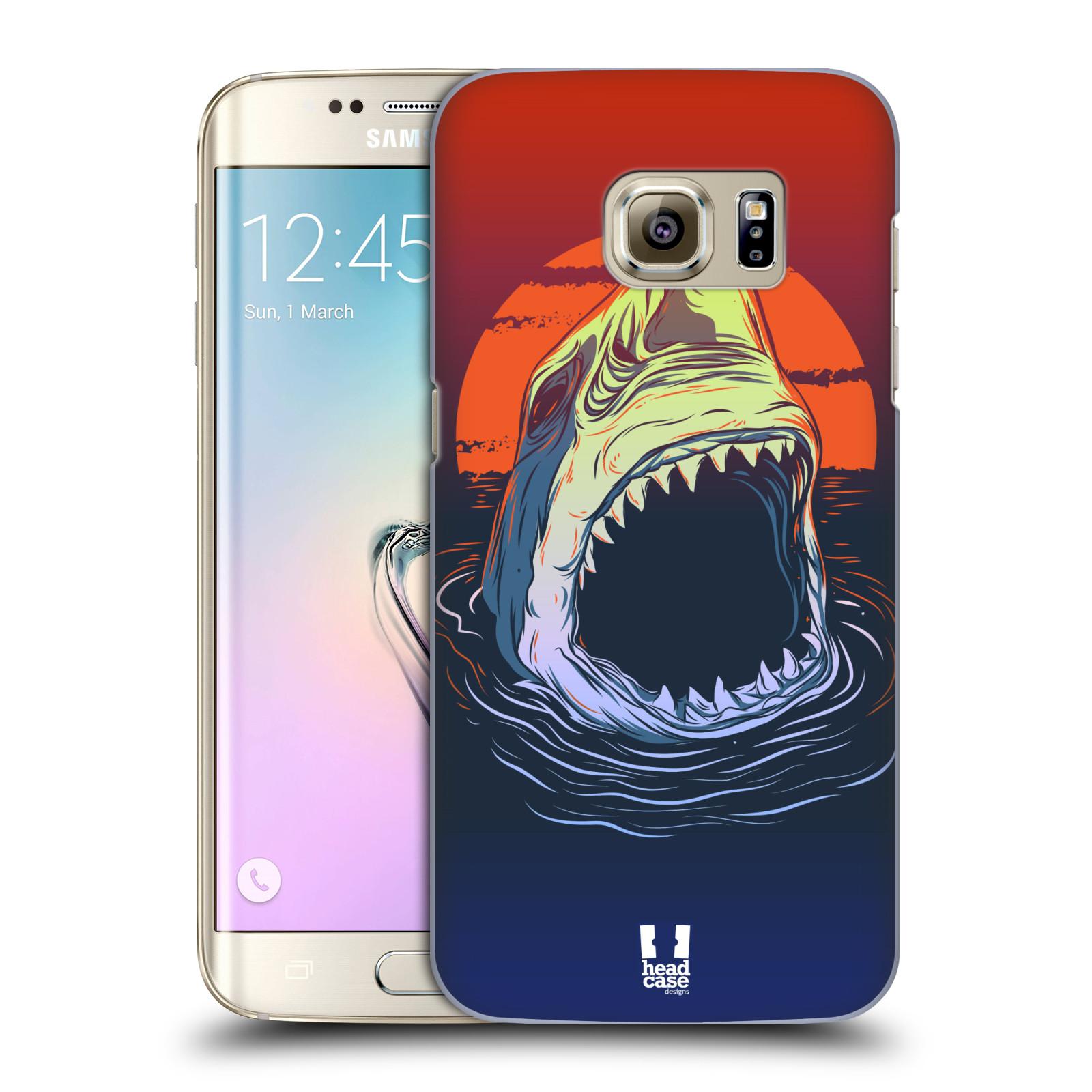 Plastové pouzdro na mobil Samsung Galaxy S7 Edge HEAD CASE HLADOVÝ ŽRALOK (Kryt či obal na mobilní telefon Samsung Galaxy S7 Edge SM-G935F)