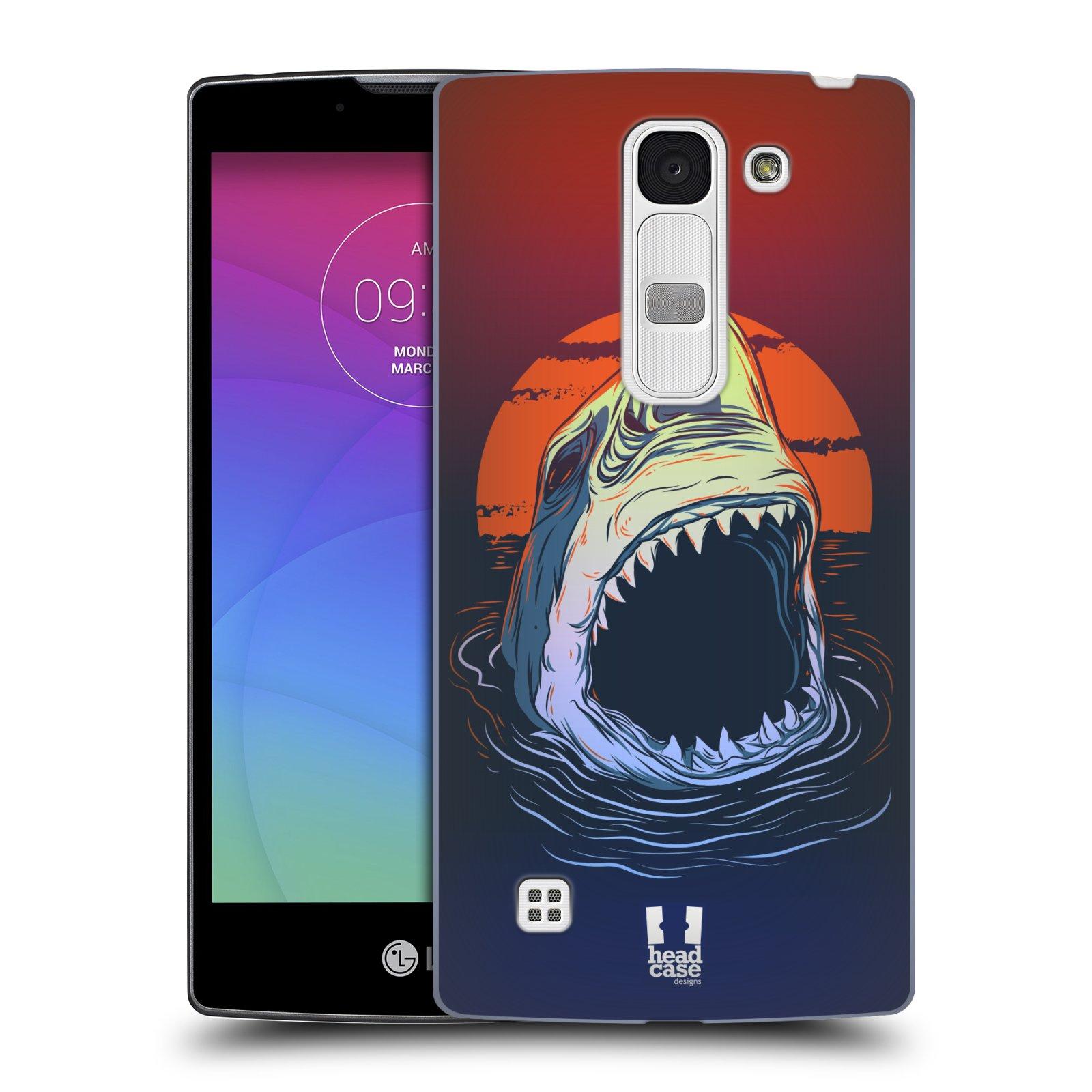 Plastové pouzdro na mobil LG Spirit LTE HEAD CASE HLADOVÝ ŽRALOK (Kryt či obal na mobilní telefon LG Spirit H420 a LG Spirit LTE H440N)