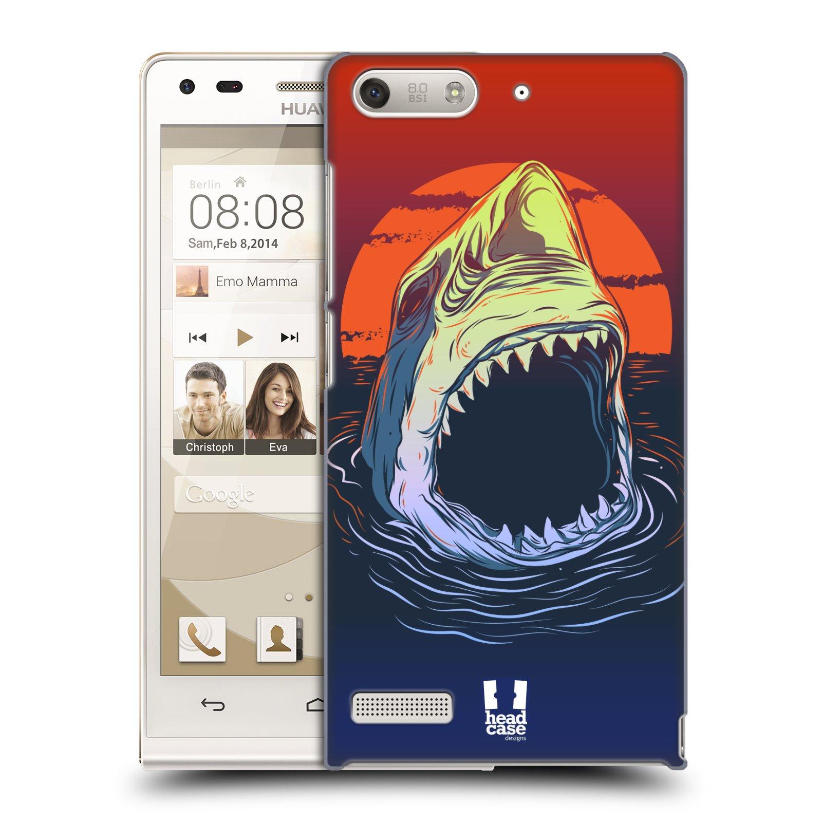 Plastové pouzdro na mobil Huawei Ascend G6 HEAD CASE HLADOVÝ ŽRALOK (Kryt či obal na mobilní telefon Huawei Ascend G6 bez LTE)