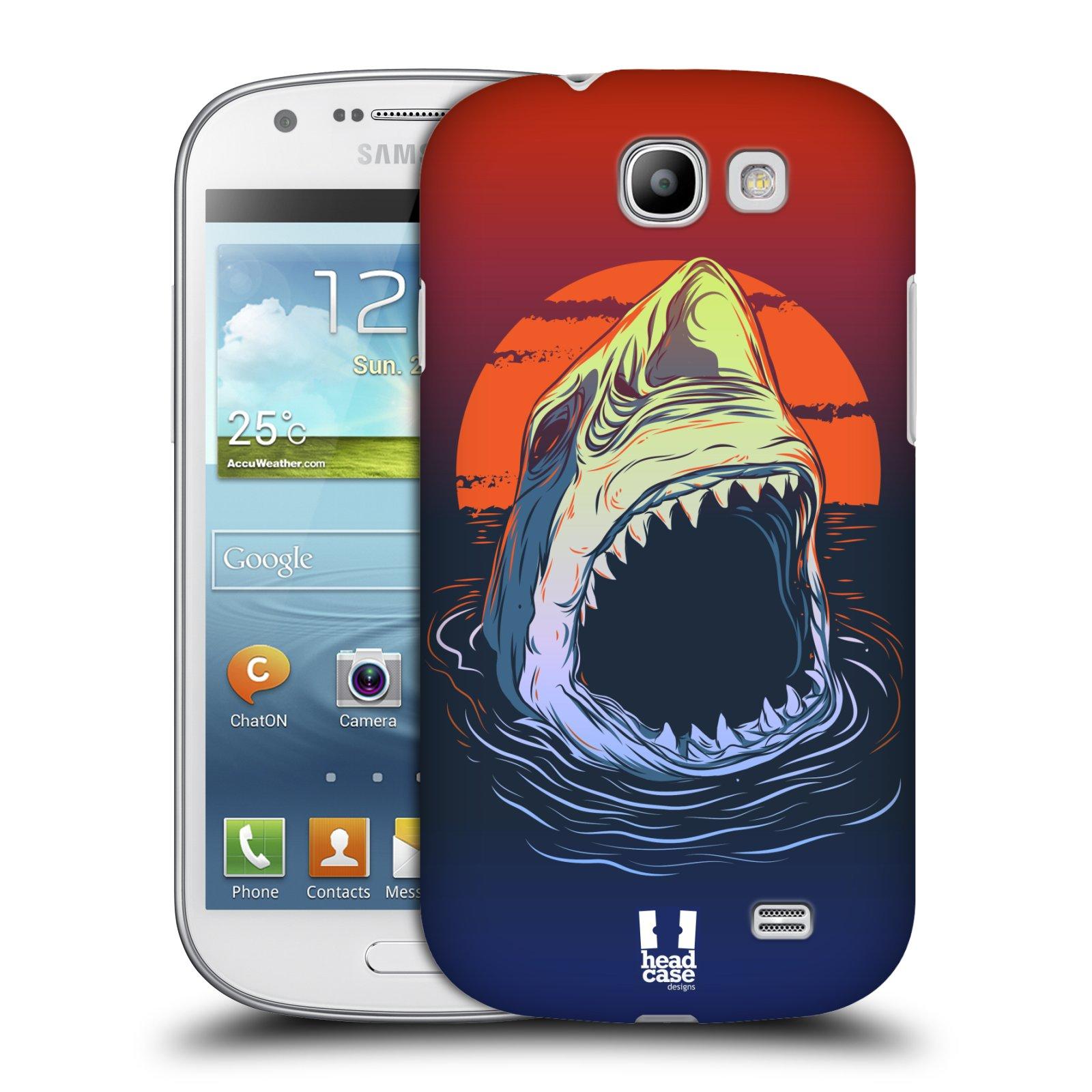 Plastové pouzdro na mobil Samsung Galaxy Express HEAD CASE HLADOVÝ ŽRALOK (Kryt či obal na mobilní telefon Samsung Galaxy Express GT-i8730)