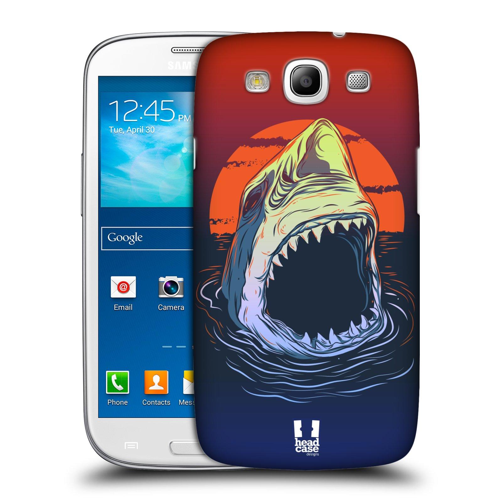 Plastové pouzdro na mobil Samsung Galaxy S3 Neo HEAD CASE HLADOVÝ ŽRALOK