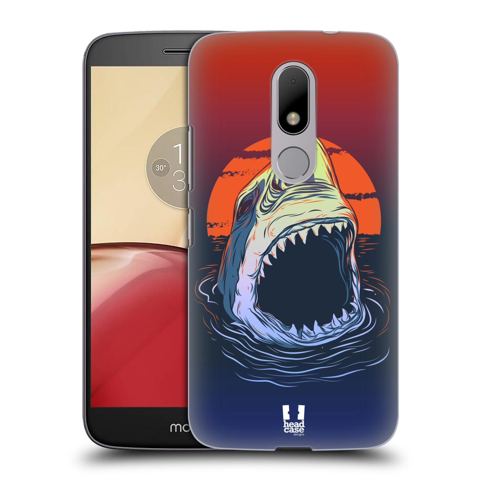 Plastové pouzdro na mobil Lenovo Moto M HEAD CASE HLADOVÝ ŽRALOK (Plastový kryt či obal na mobilní telefon Lenovo (Motorola) Moto M / Moto M Dual SIM)