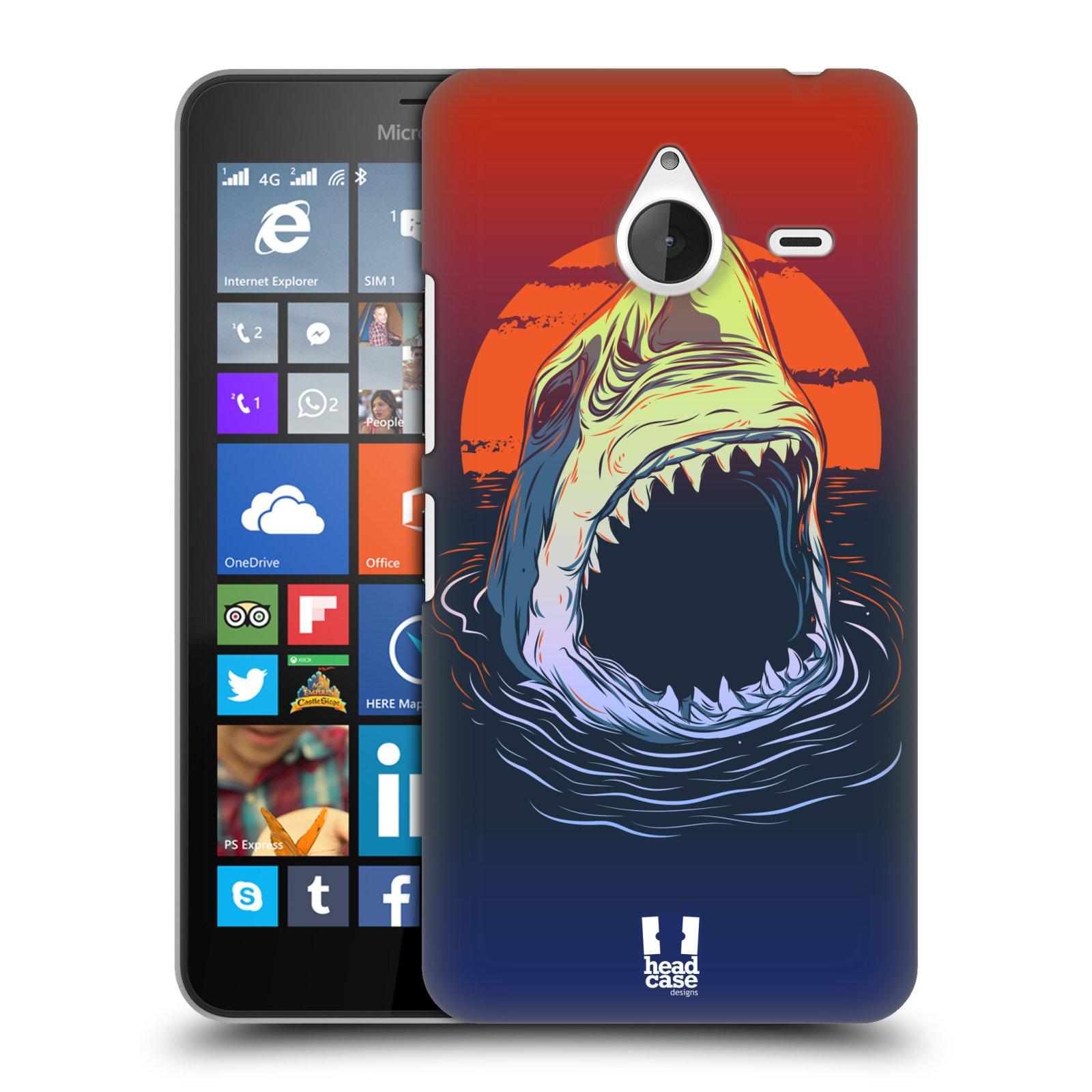 Plastové pouzdro na mobil Microsoft Lumia 640 XL HEAD CASE HLADOVÝ ŽRALOK (Kryt či obal na mobilní telefon Microsoft Lumia 640 XL)